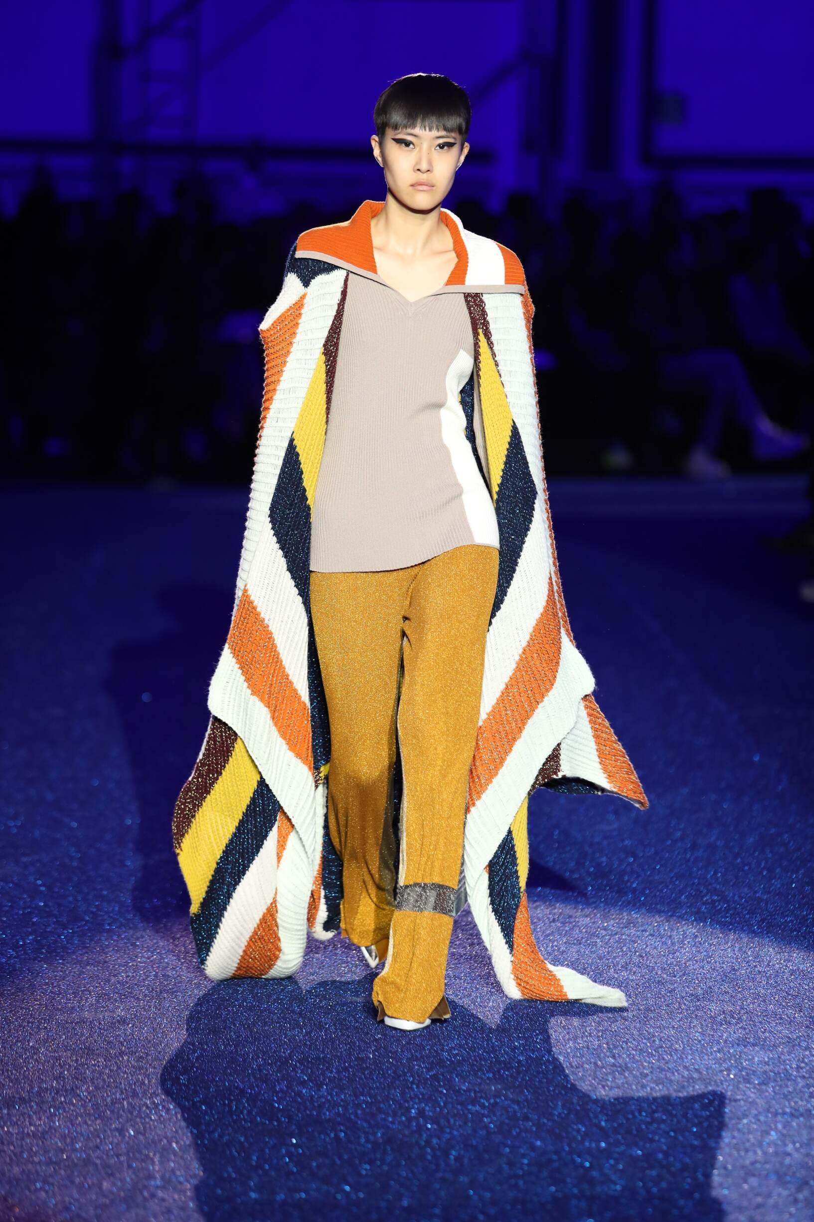 Runway Missoni Fall Winter 2019 Collection Milan Fashion Week