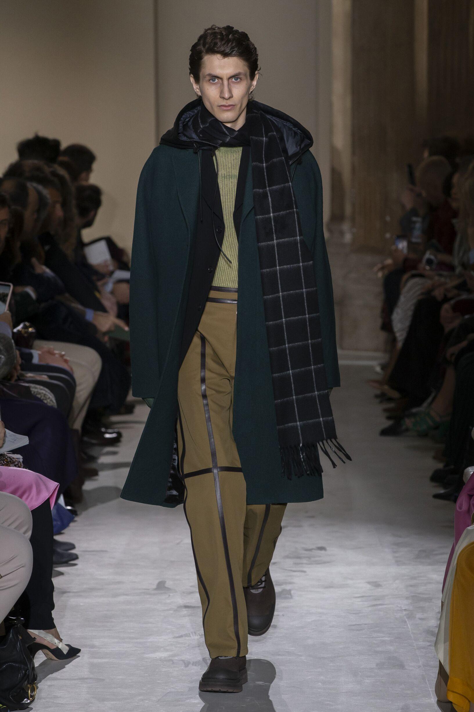 Runway Salvatore Ferragamo Fall Winter 2019 Collection Milan Fashion Week