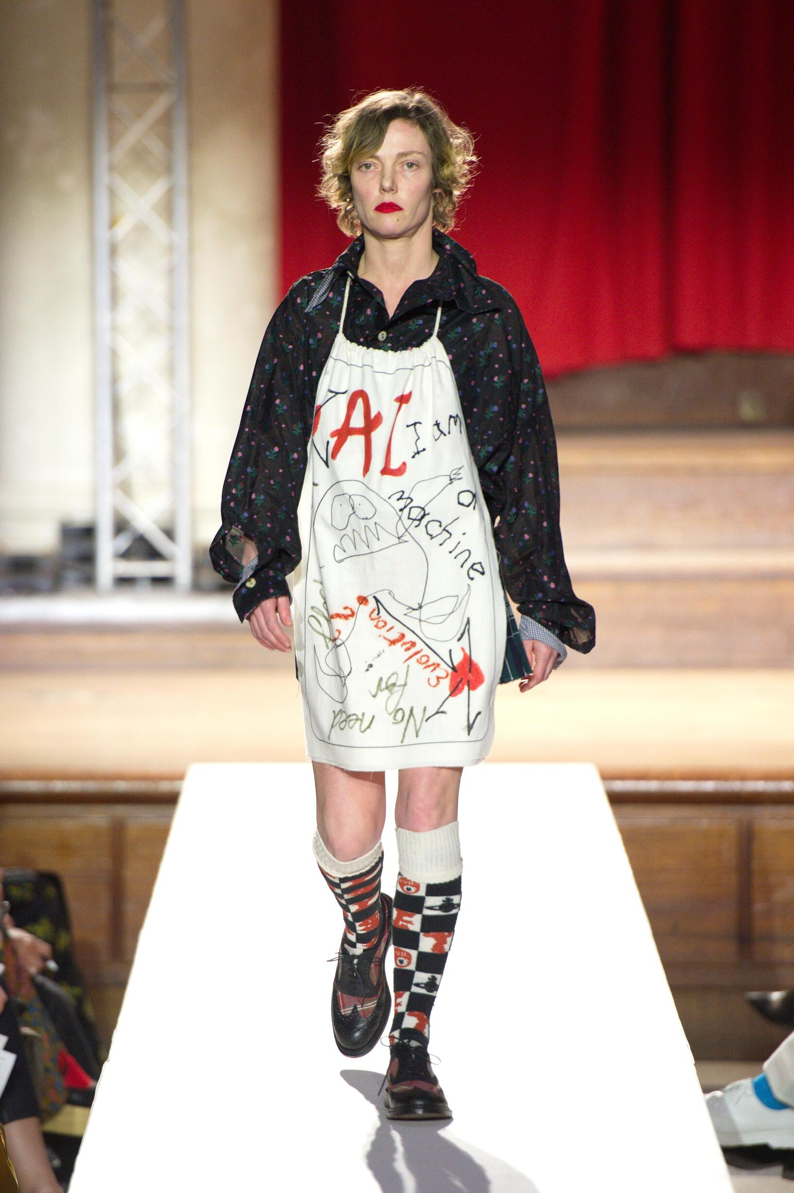 Runway Vivienne Westwood Fall Winter 2019 Collection London Fashion Week
