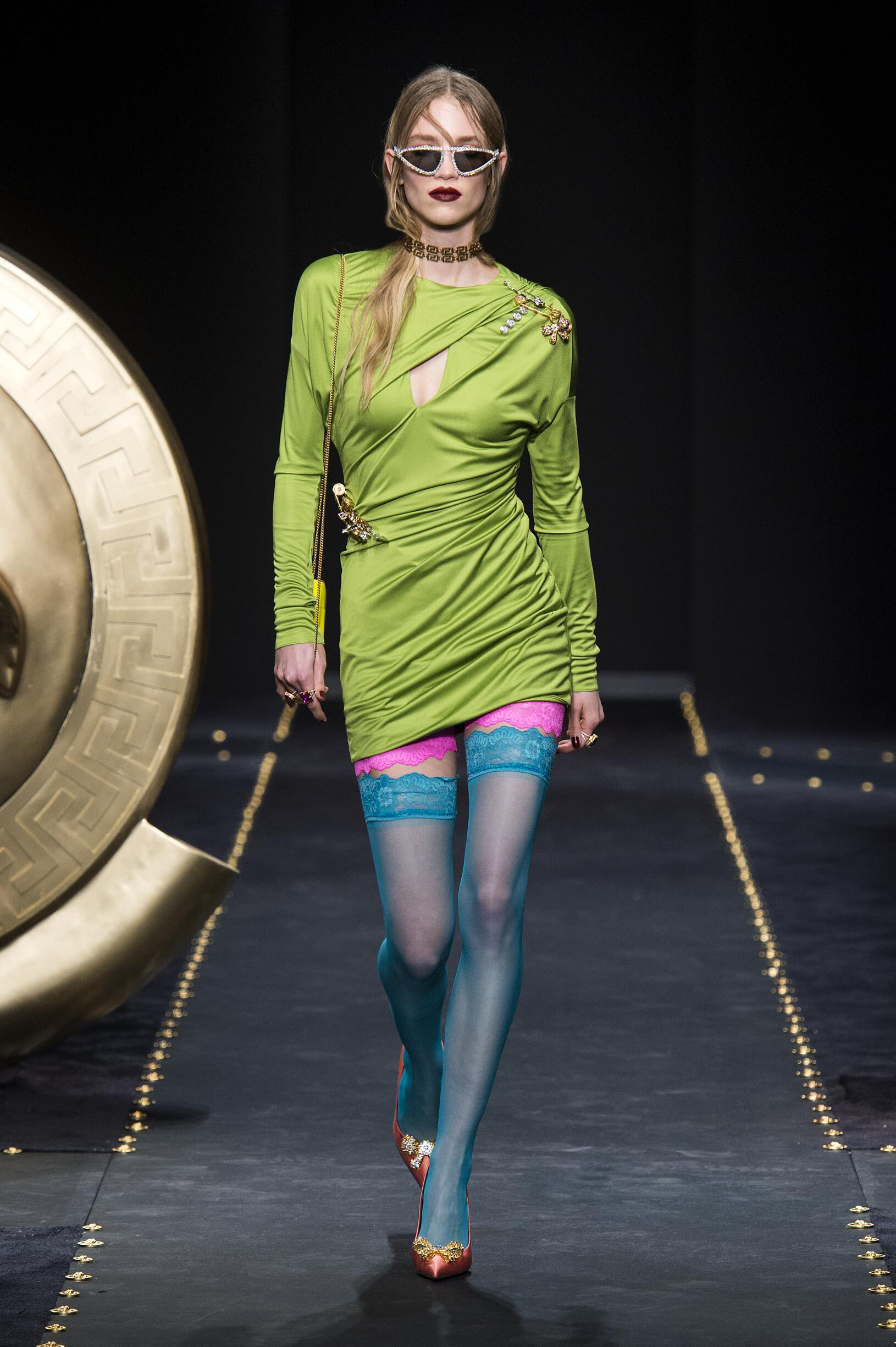 Versace Fall 2019 Catwalk