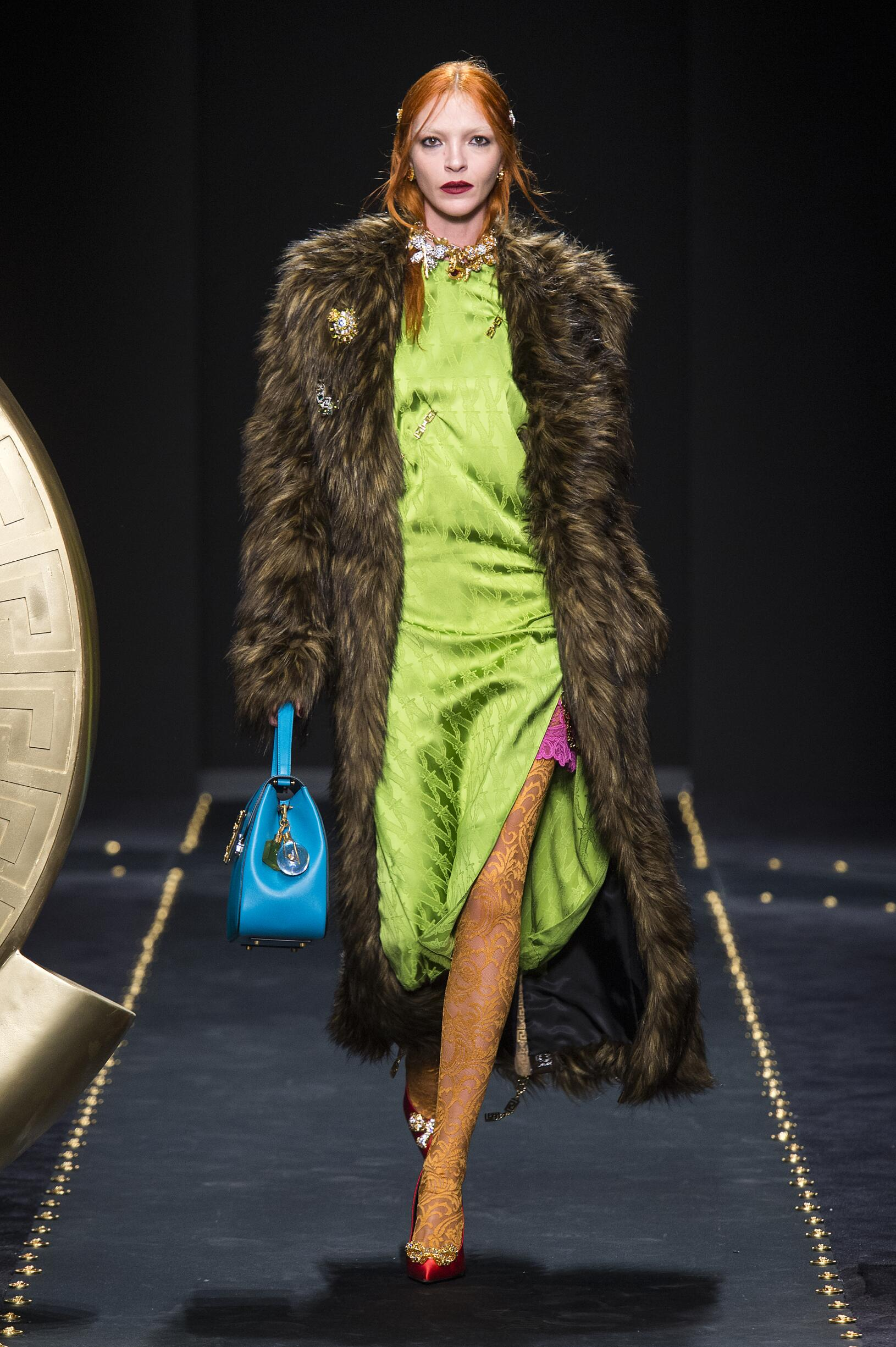 Versace Fall Winter 2019 Womens Collection Milan Fashion Week