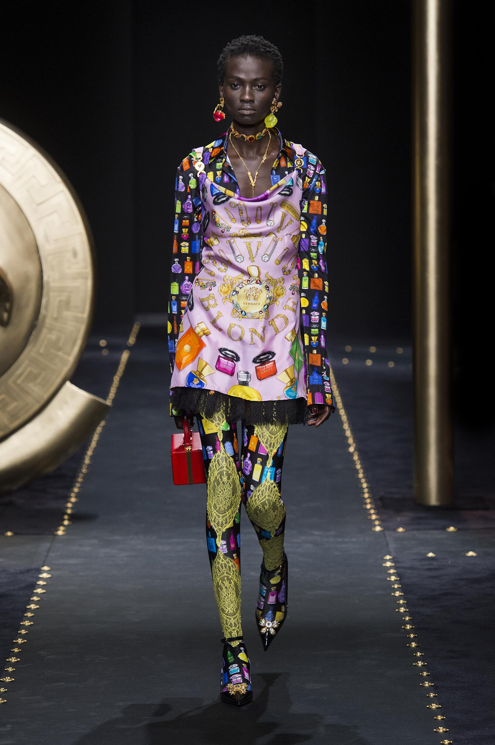 Versace Milan Fashion Week Womenswear 2019-20