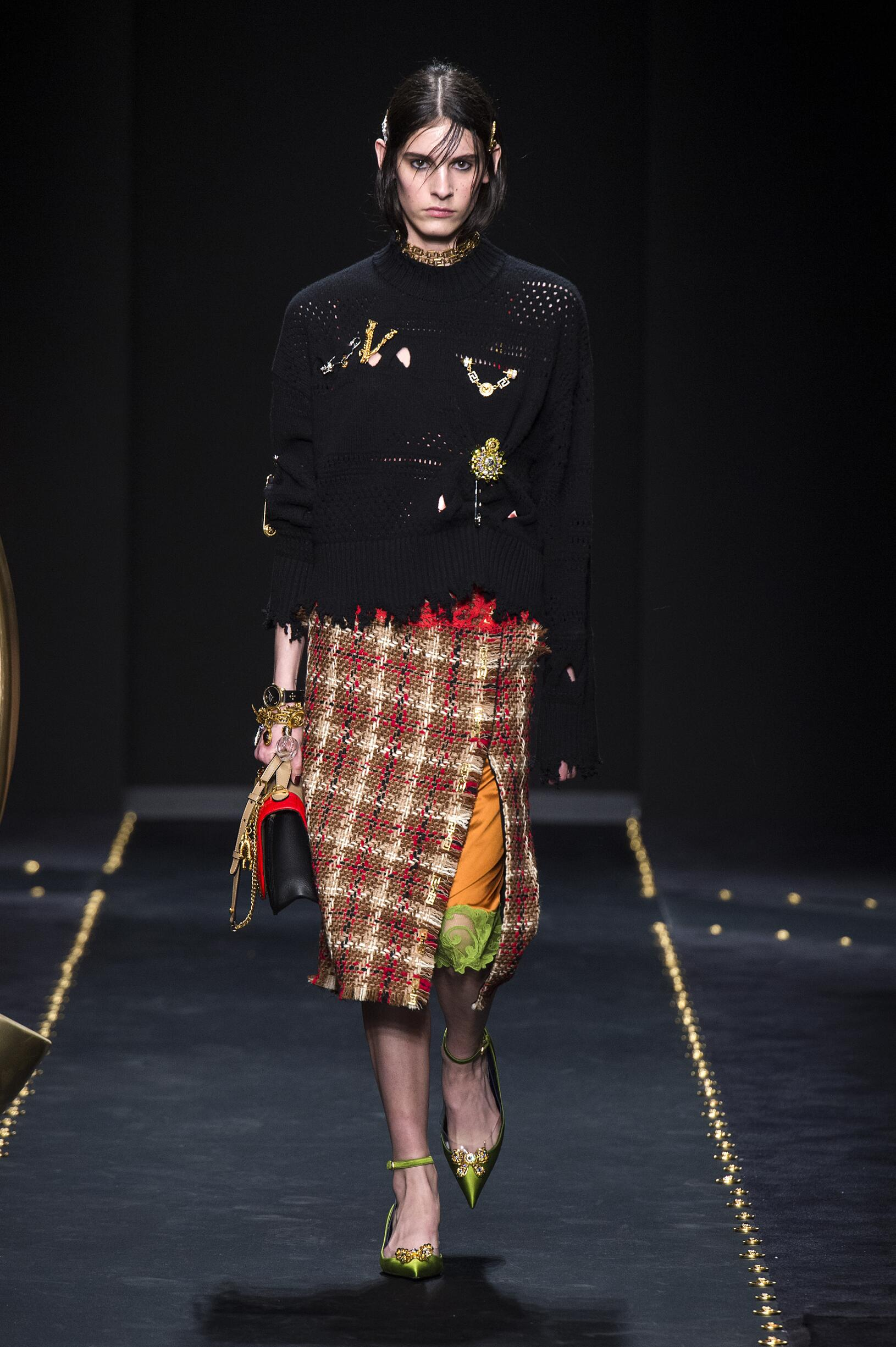 Versace Milan Fashion Week Womenswear Trends
