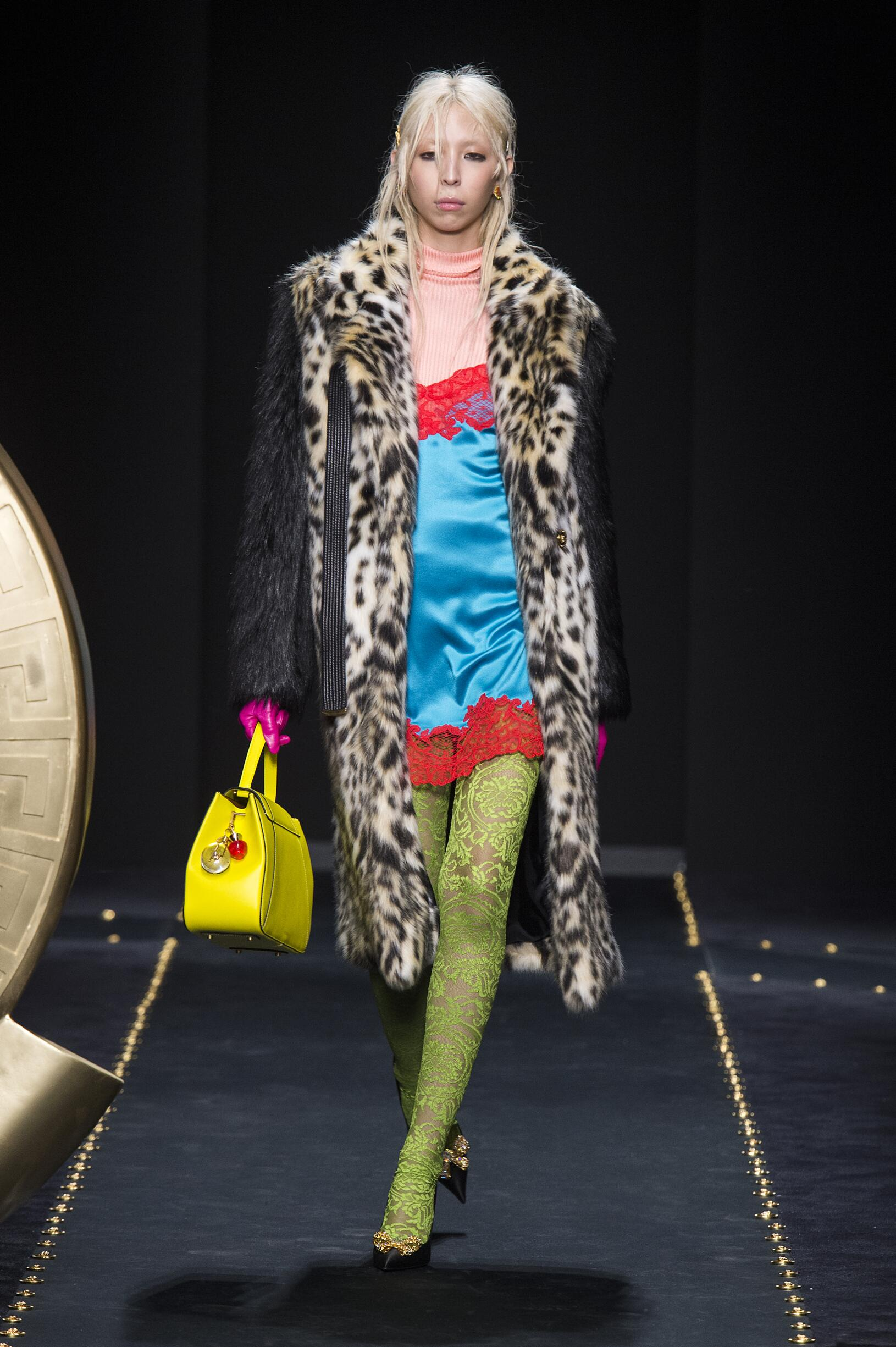 Versace Womenswear Fashion Show