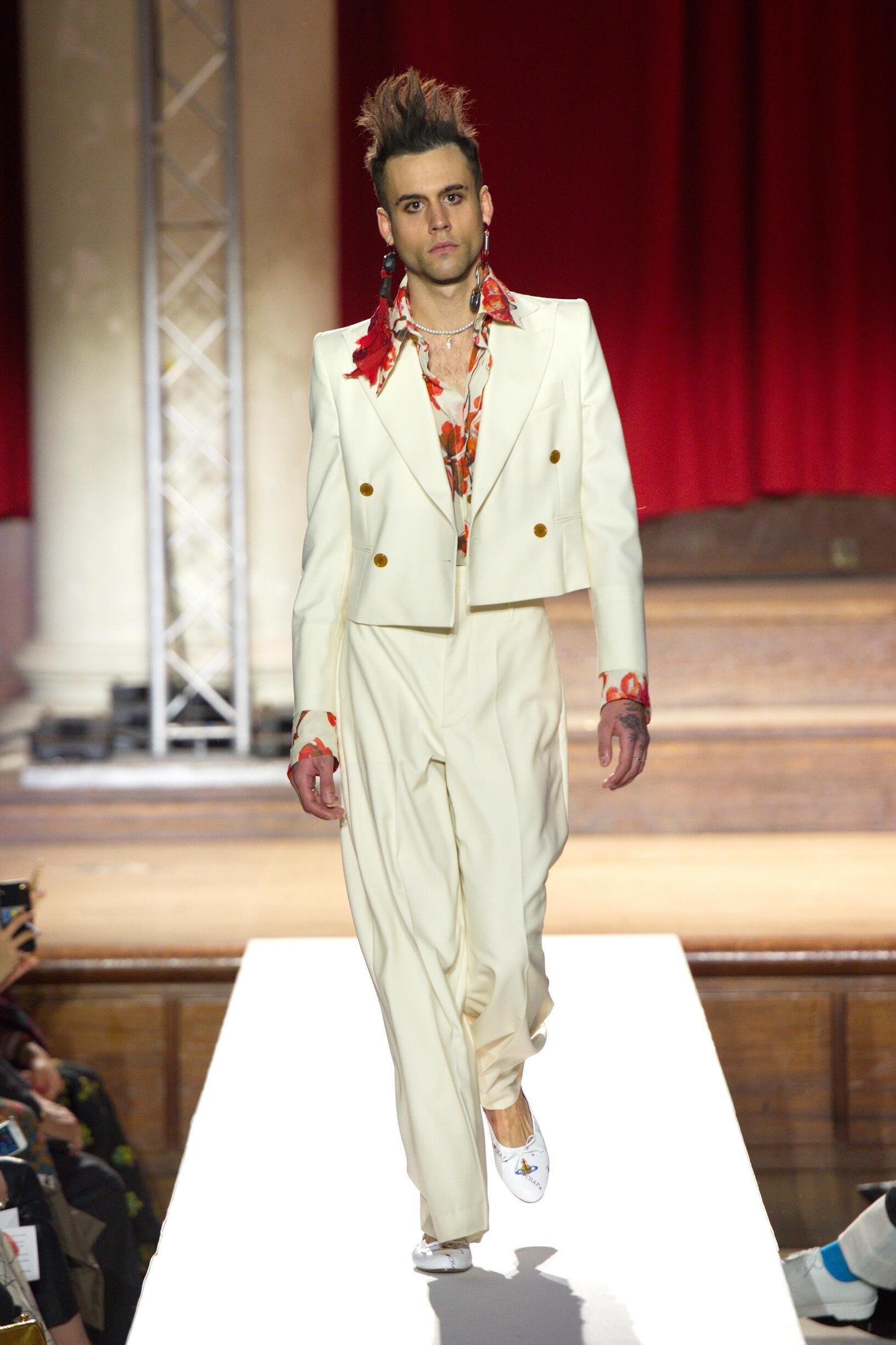 Vivienne Westwood 2019 London Trends Menswear