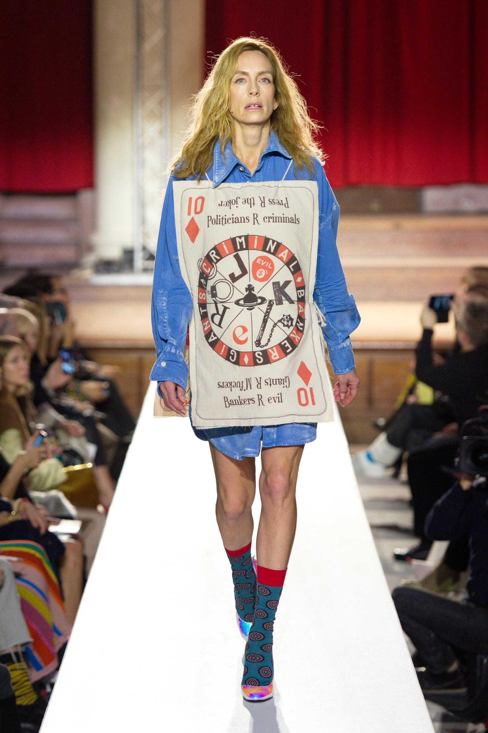 Vivienne Westwood London Fashion Week Womenswear