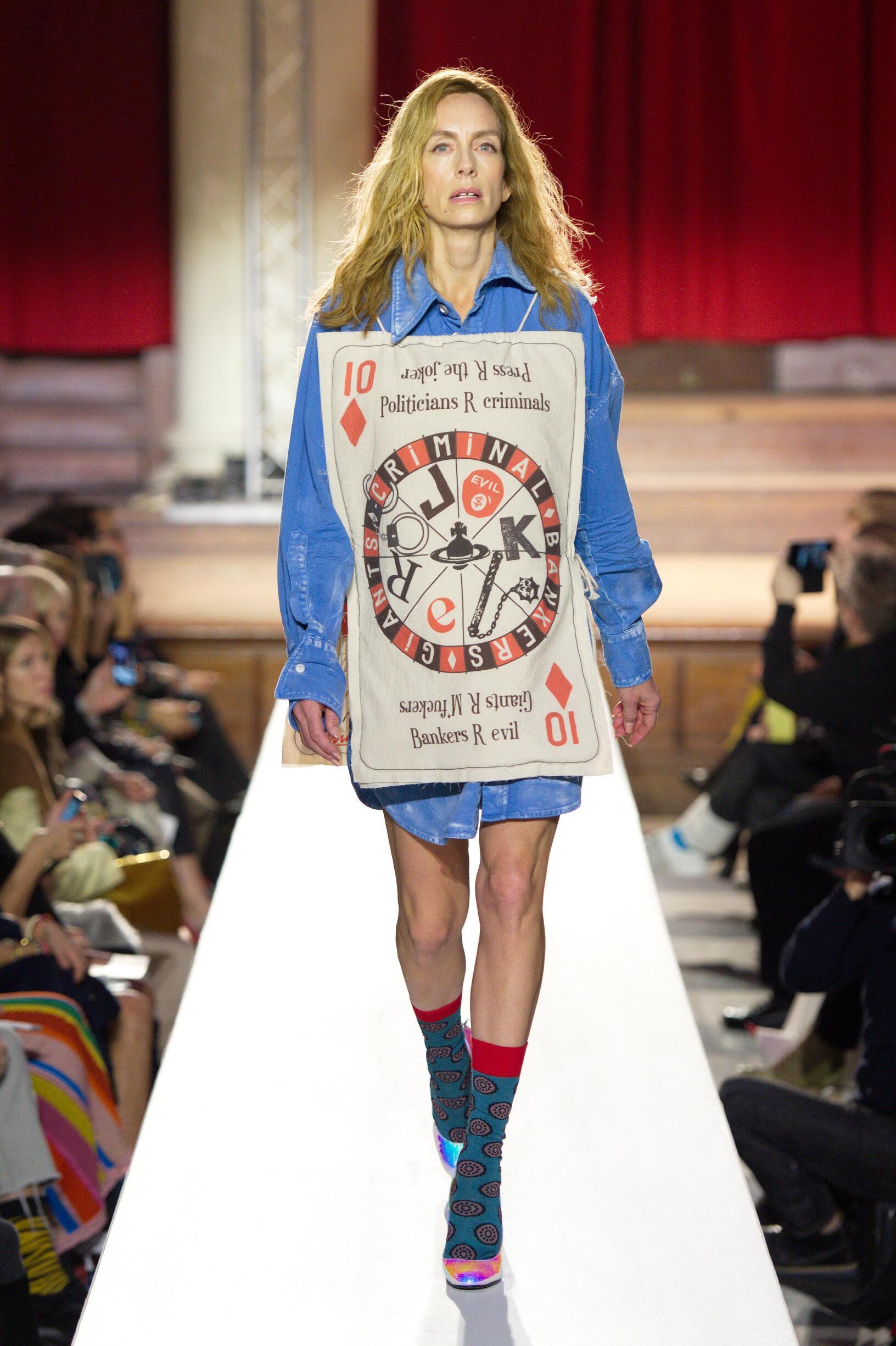 Vivienne Westwood London Fashion Week Womenswear