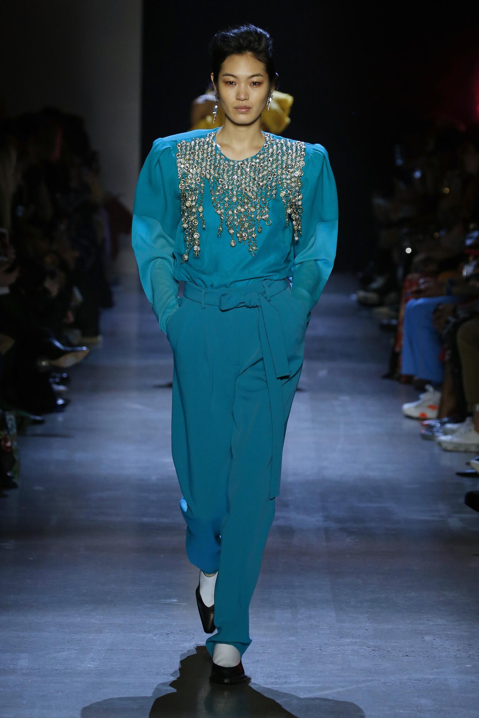 Woman FW 2019 Prabal Gurung Show New York Fashion Week
