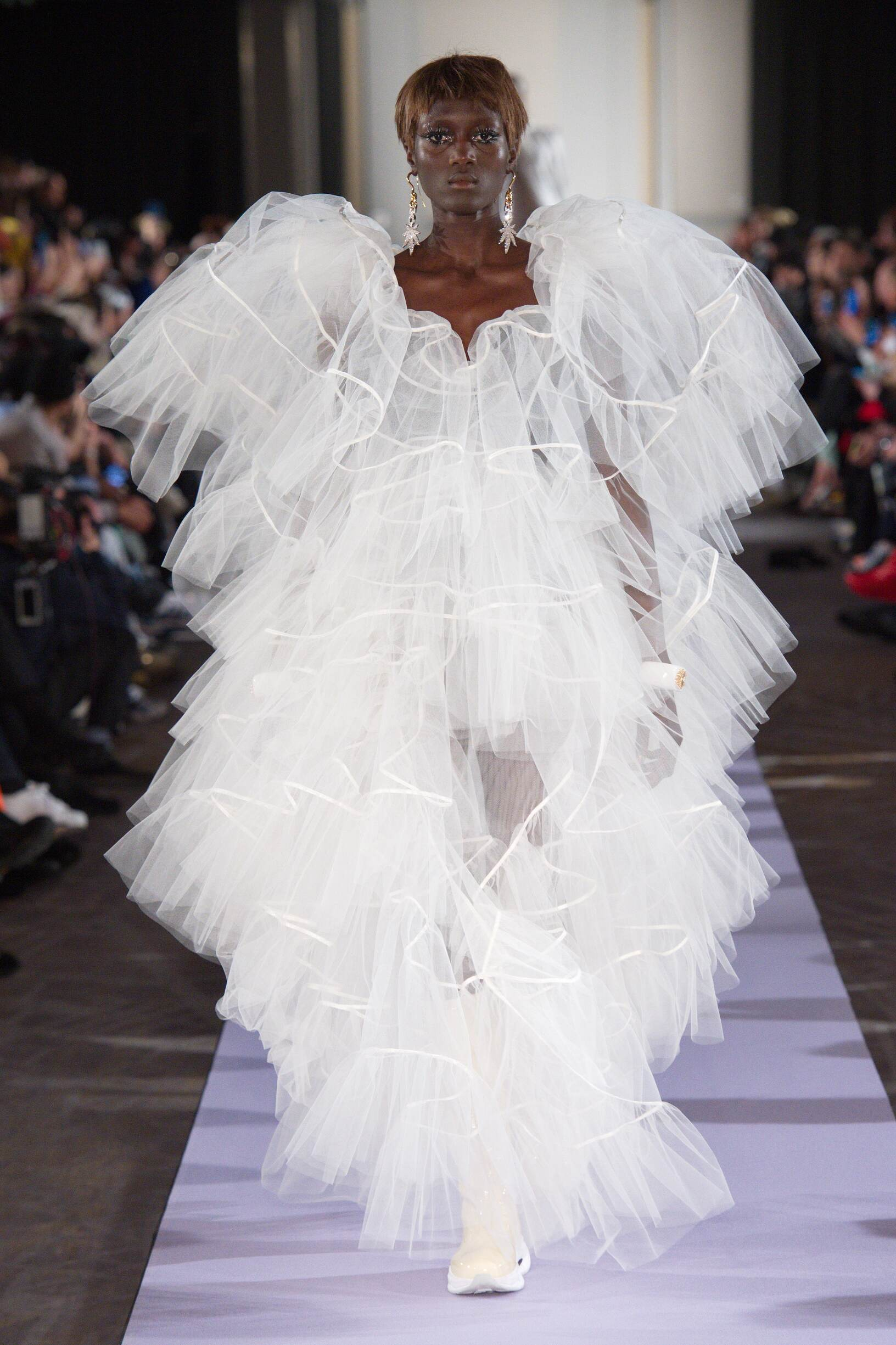 2019 Andreas Kronthaler for Vivienne Westwood Catwalk Paris Fashion Week
