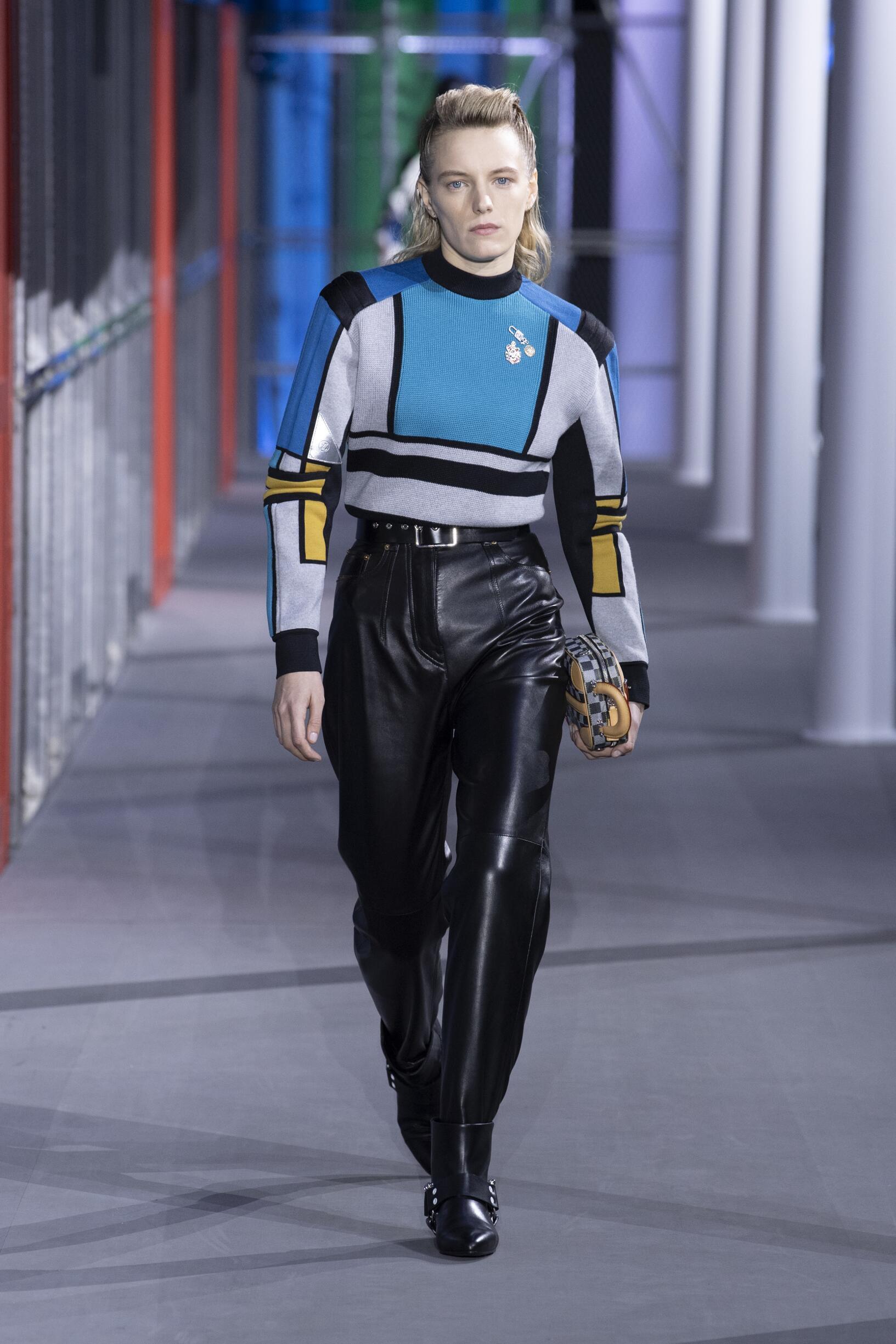 2019 Catwalk Louis Vuitton Woman Fashion Show Winter
