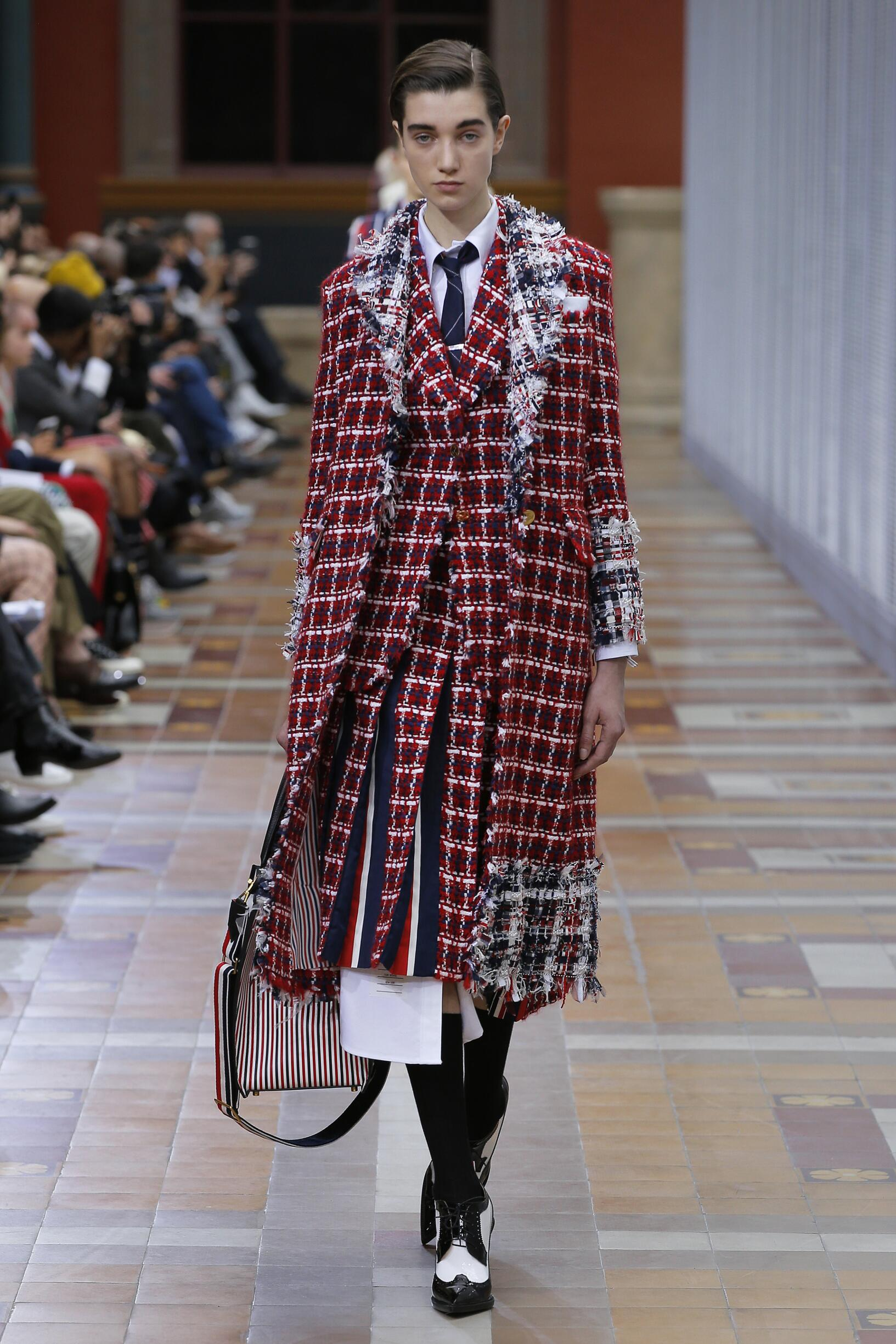 2019 Catwalk Thom Browne Winter