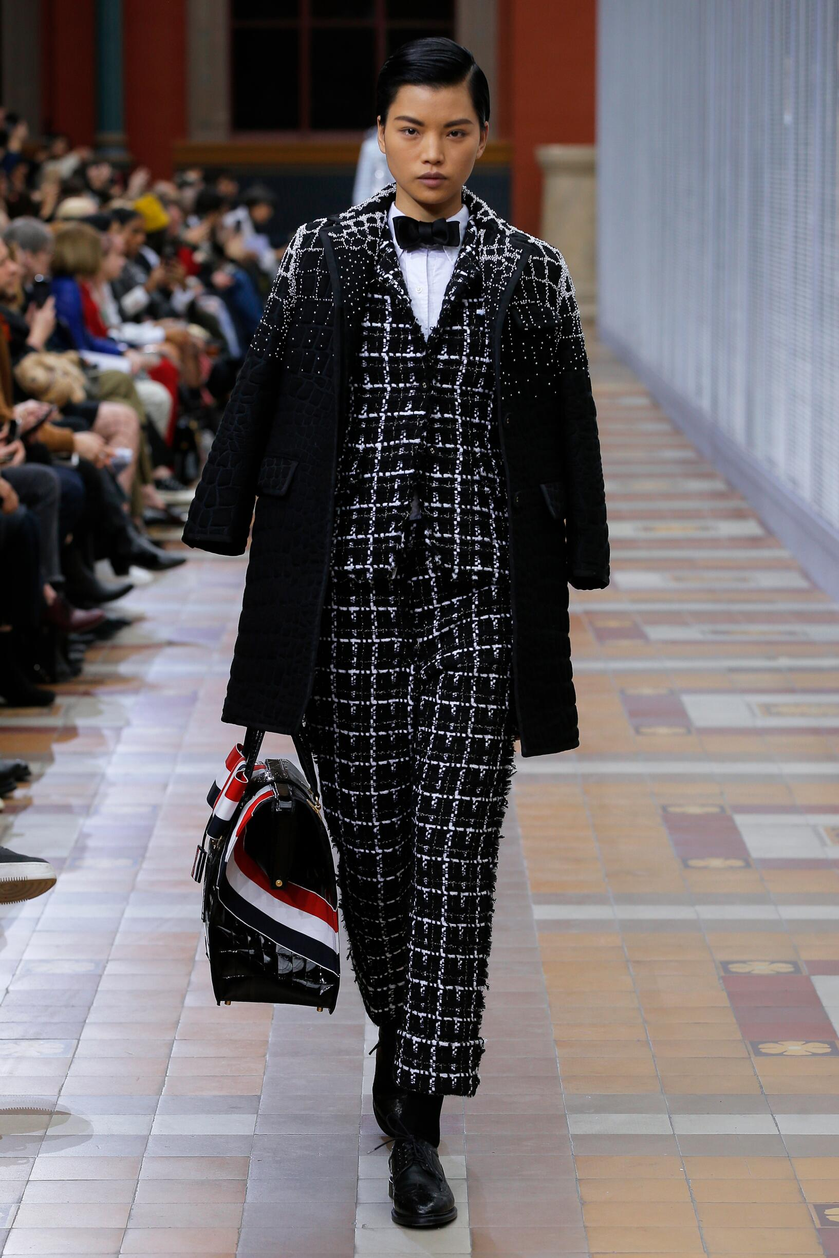 2019 Thom Browne Catwalk Paris Fashion Week