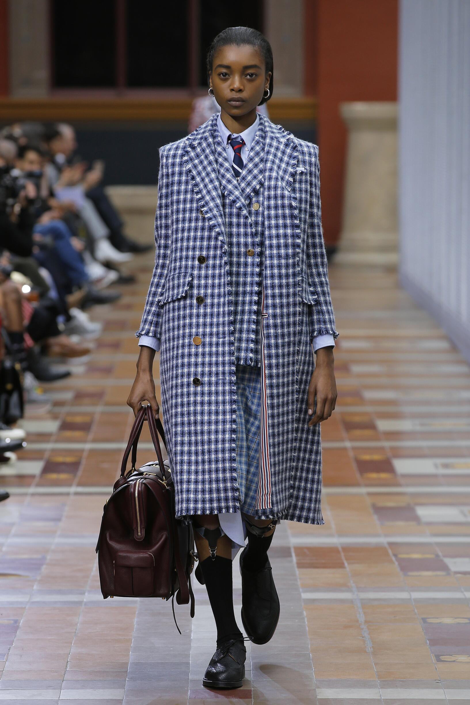 2019 Thom Browne Winter Catwalk