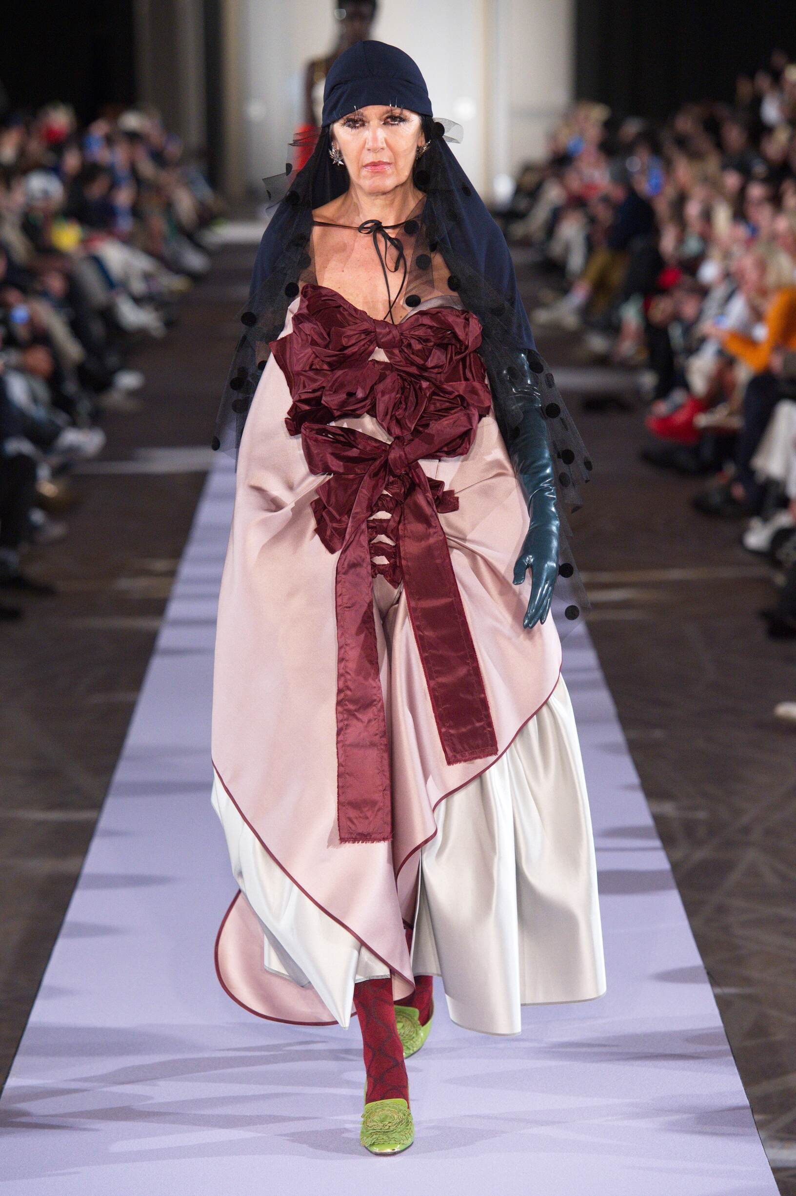 2019 Woman Andreas Kronthaler for Vivienne Westwood Trends Paris Fashion Week