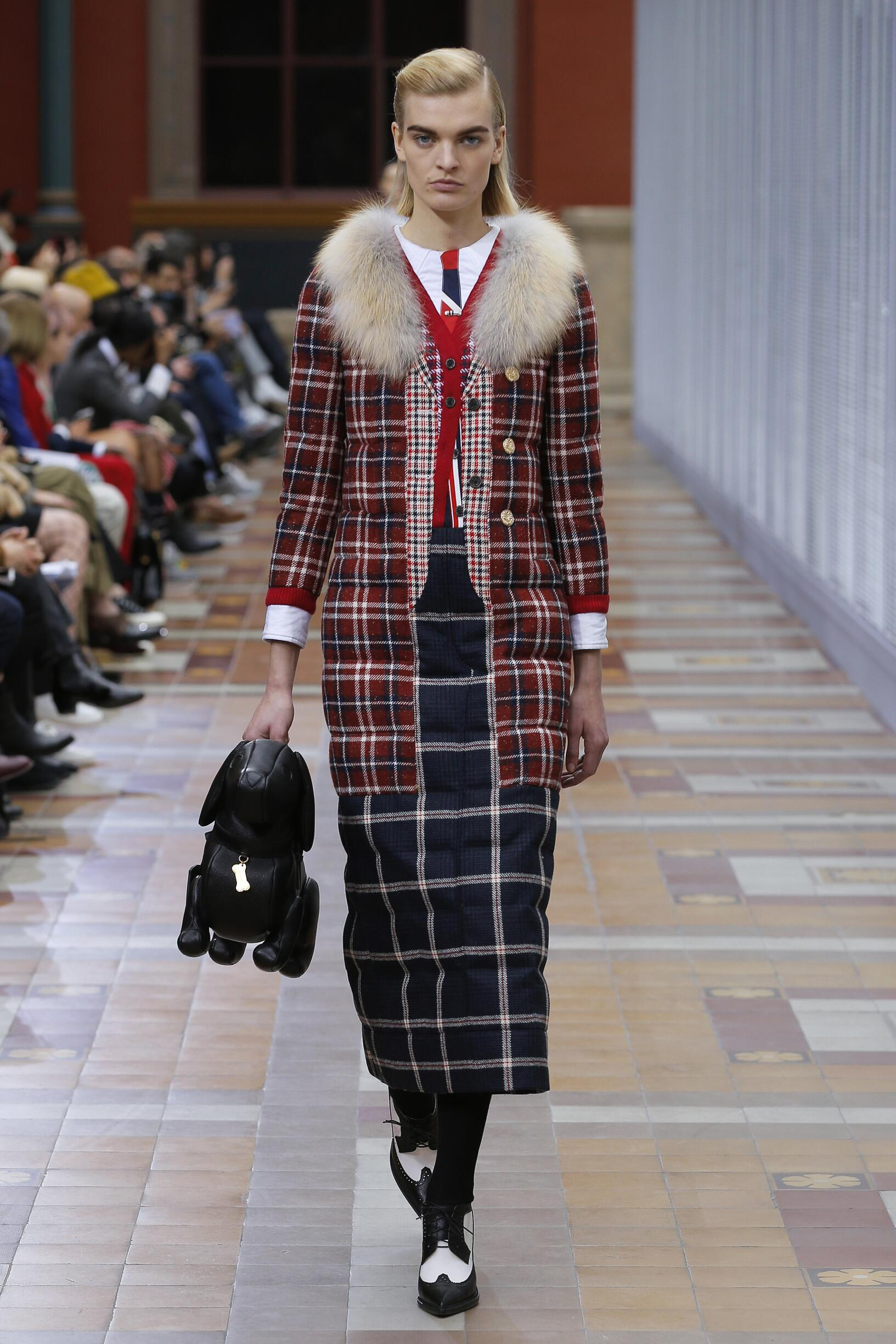 2019 Woman Style Thom Browne