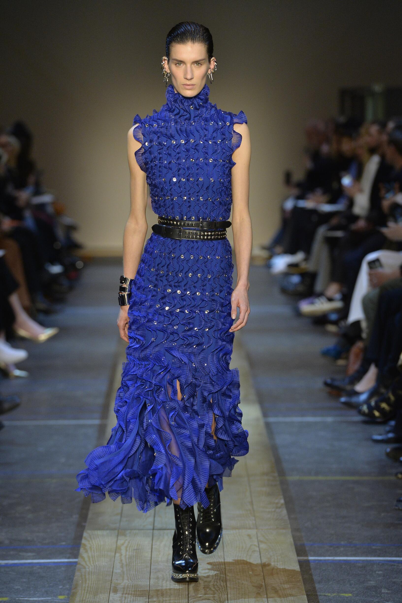 Alexander McQueen Paris Fashion Week
