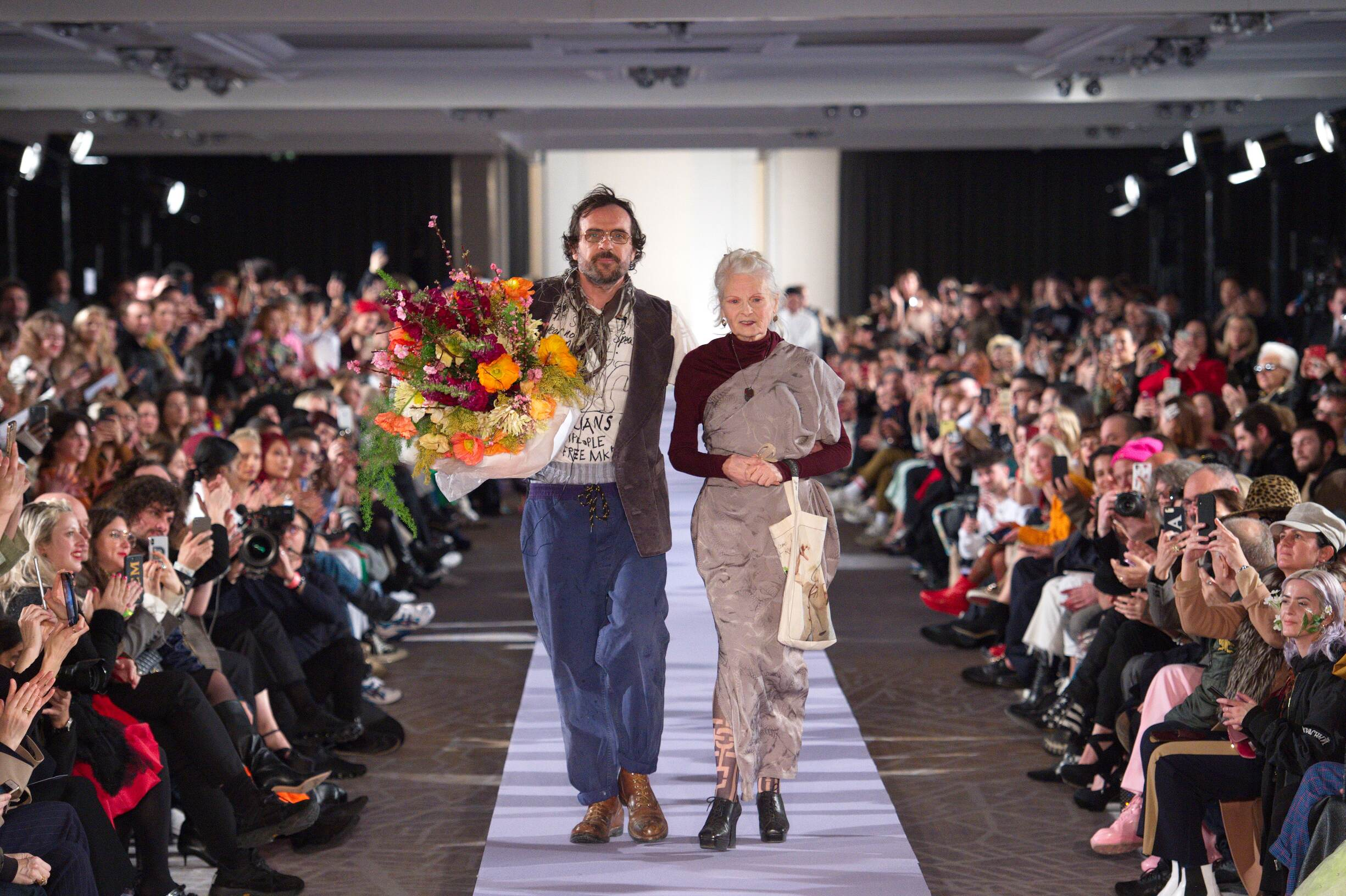 Andreas Kronthaler and Vivienne Westwood 2019
