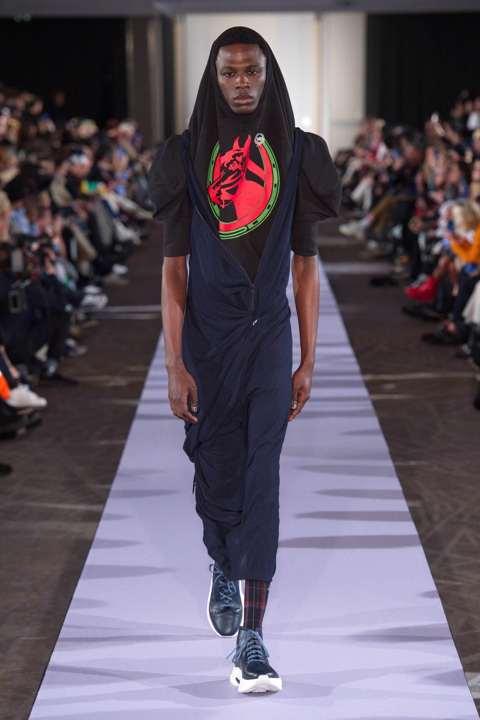 Andreas Kronthaler for Vivienne Westwood Fall 2019 Catwalk
