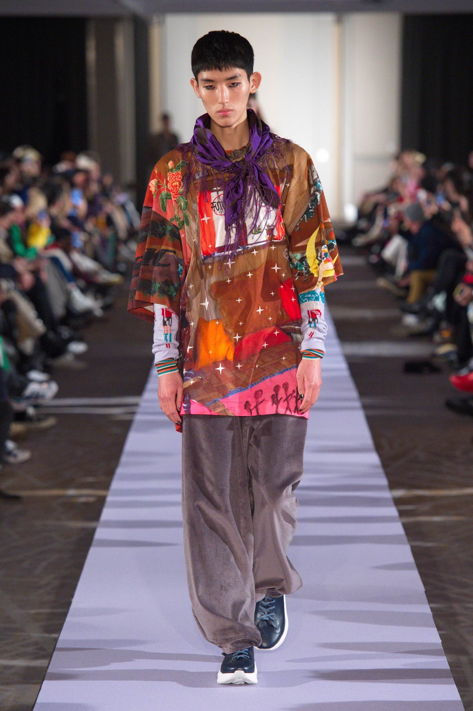 Andreas Kronthaler for Vivienne Westwood Fall Winter 2019 Mens Collection Paris Fashion Week