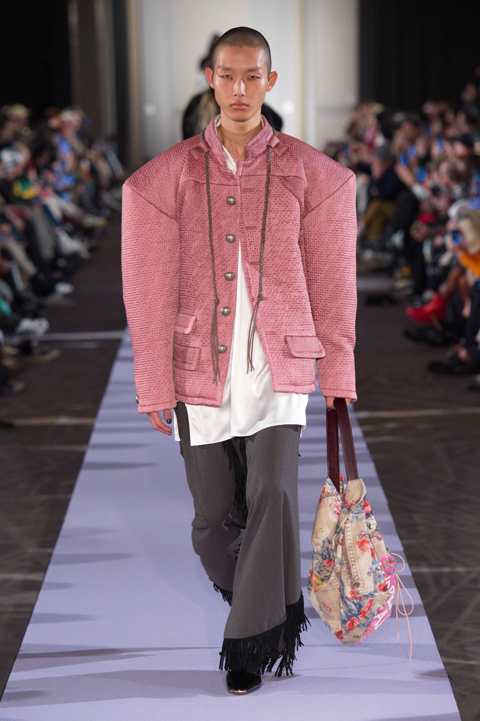 Andreas Kronthaler for Vivienne Westwood Menswear Fashion Show