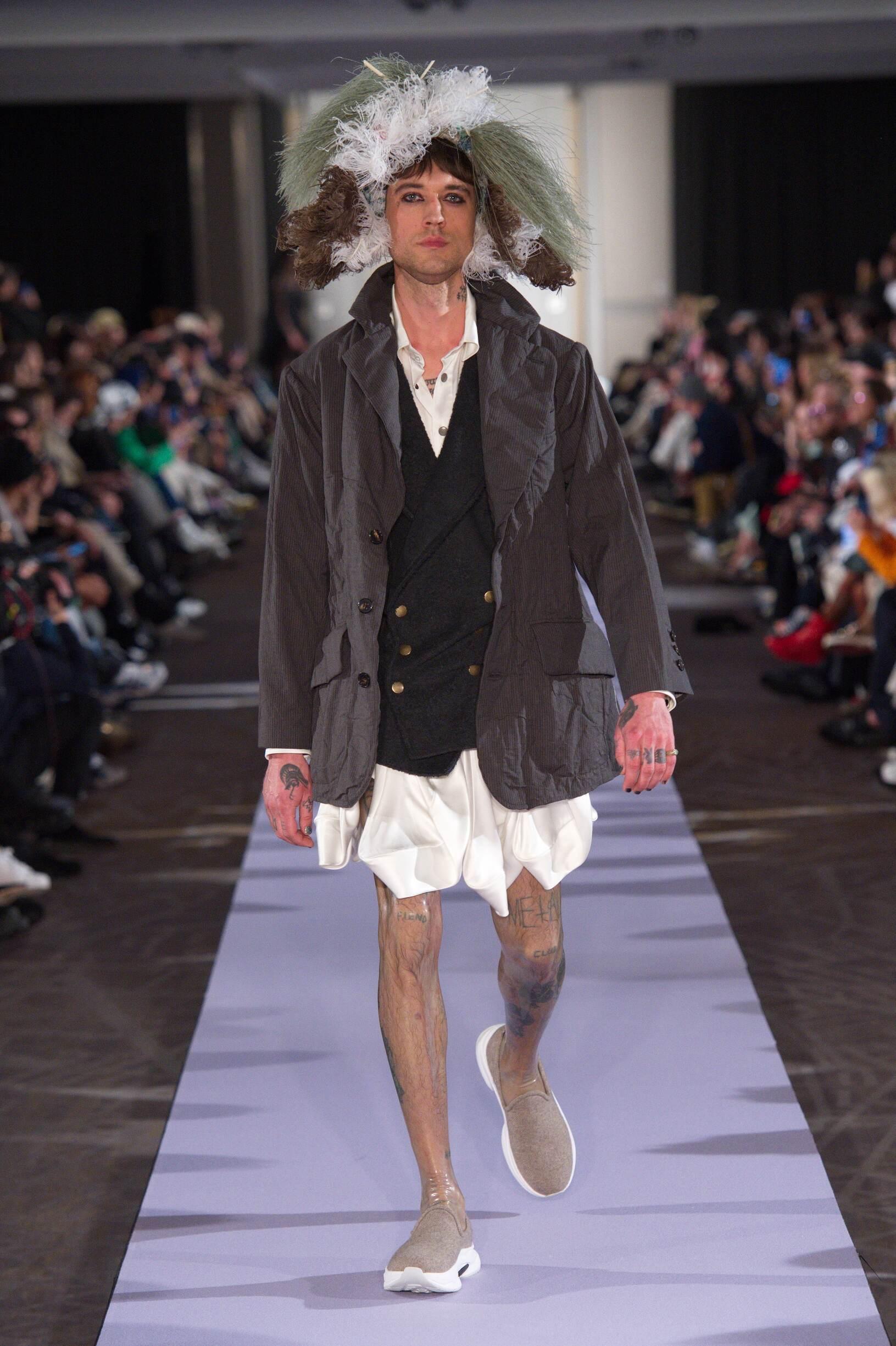Andreas Kronthaler for Vivienne Westwood Paris Fashion Week Menswear 2019-20