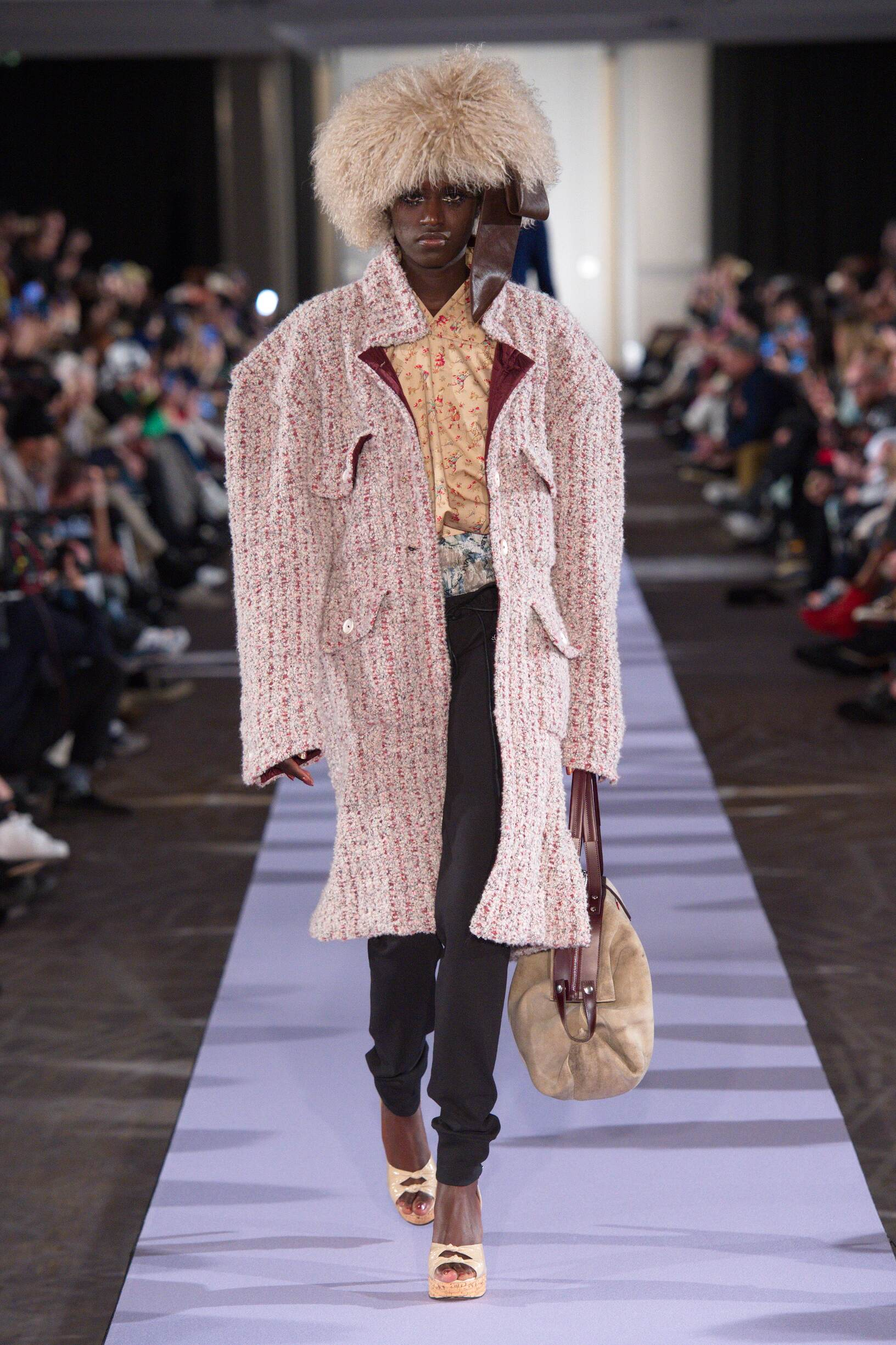 Andreas Kronthaler for Vivienne Westwood Winter 2019 Catwalk