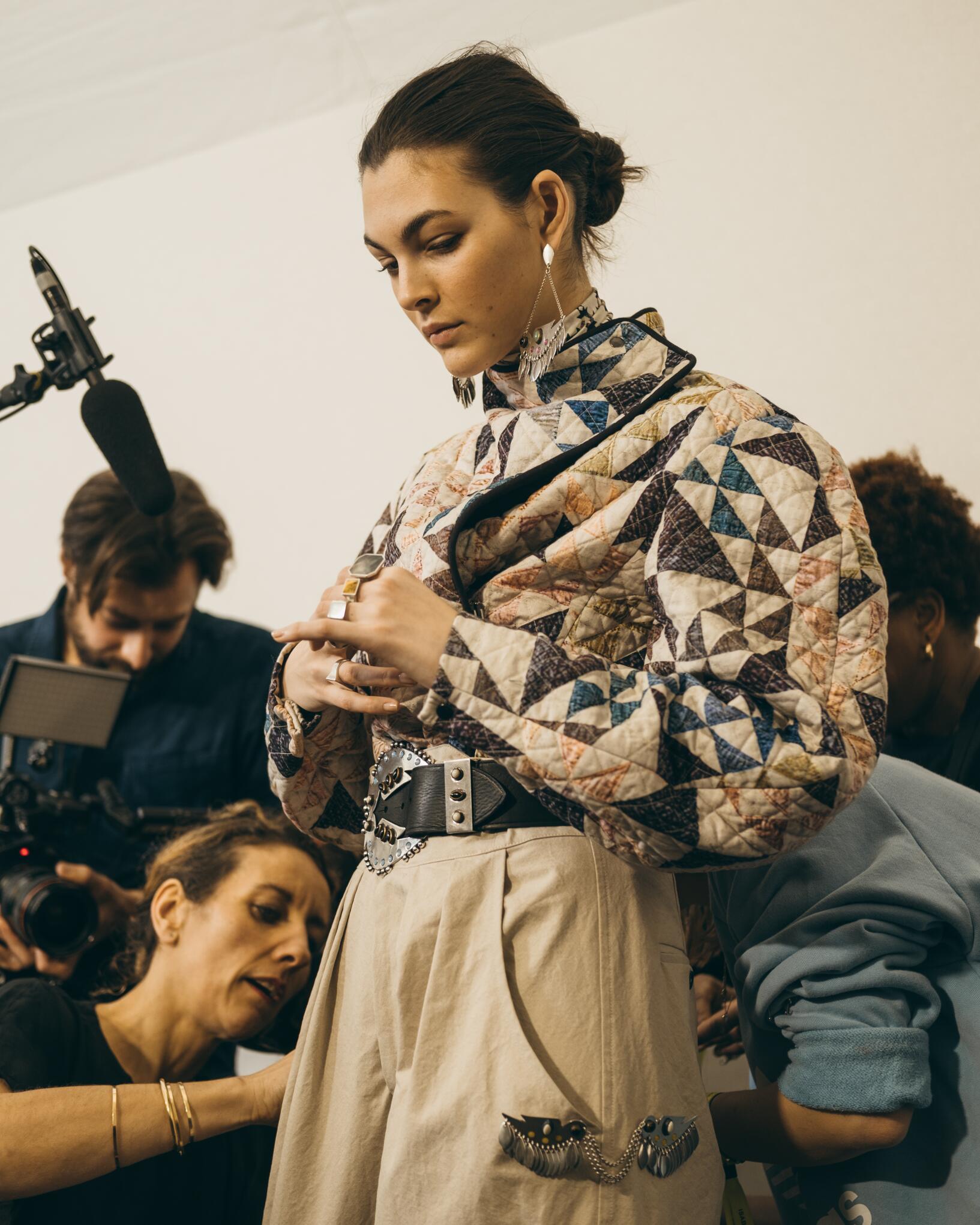 Backstage Isabel Marant Model 2019-20
