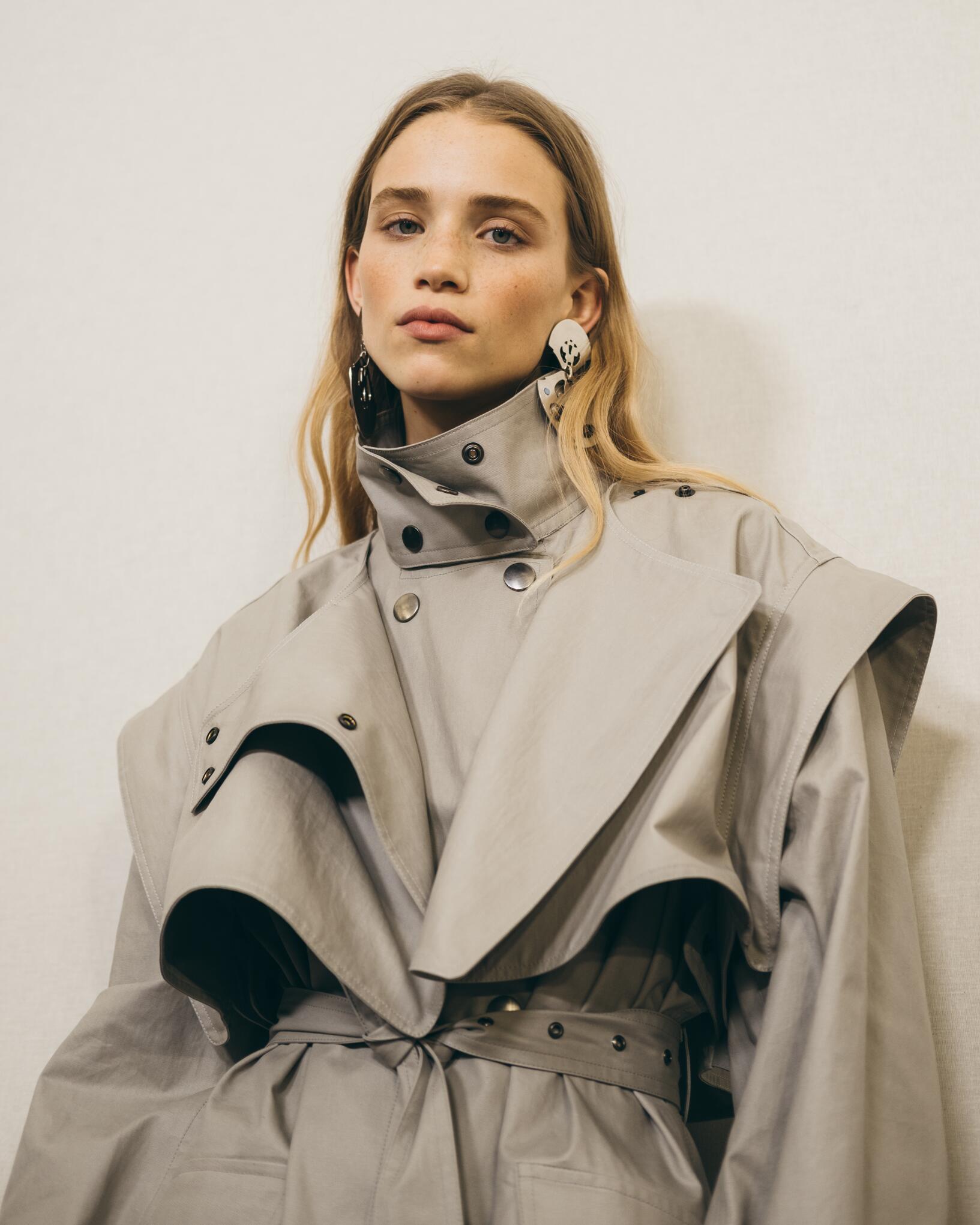 Backstage Isabel Marant Model 2019 Style