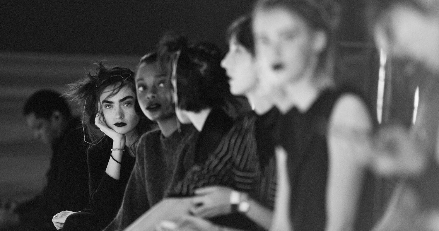 Backstage Yohji Yamamoto Fashion Show 2019 Paris