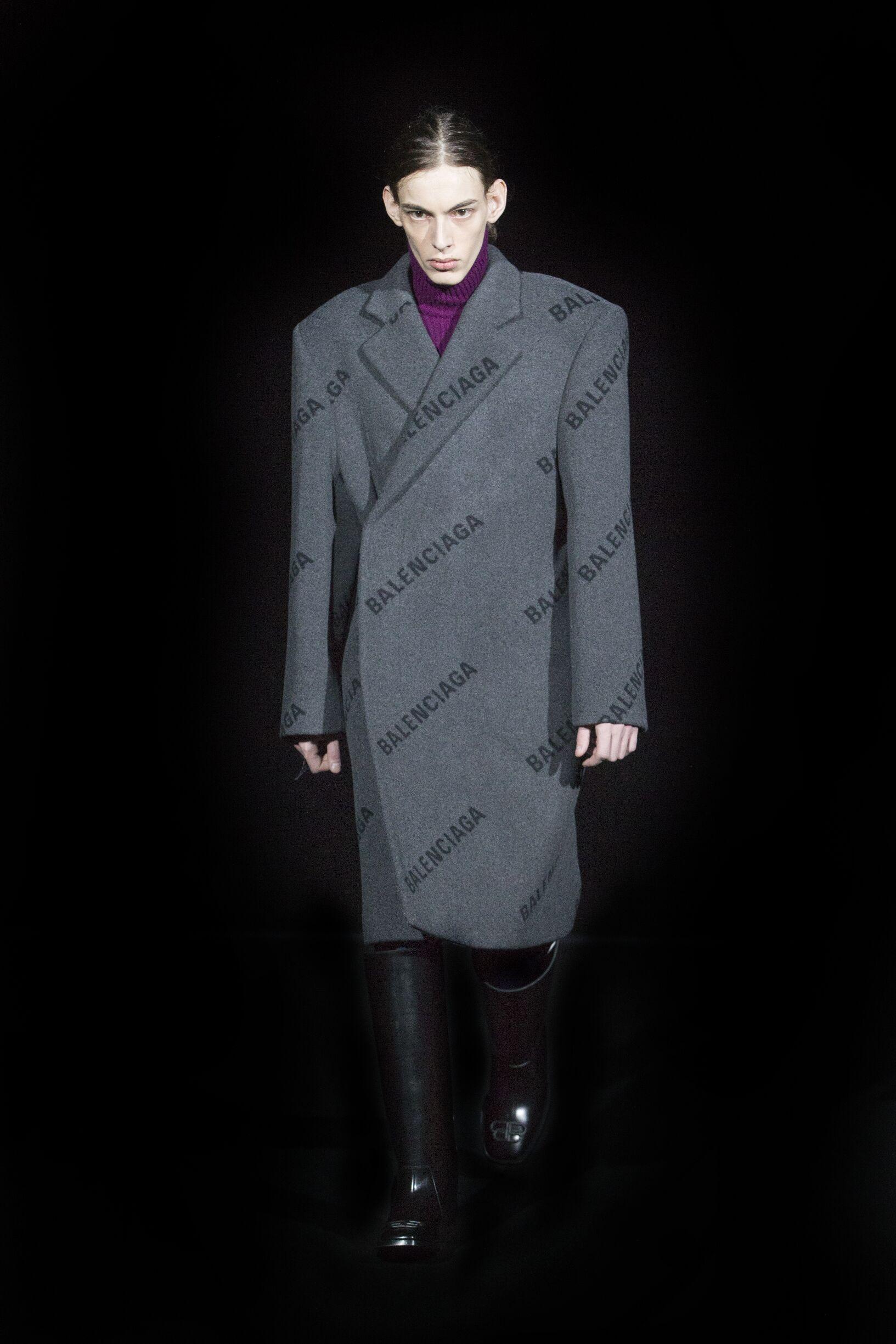 Balenciaga FW 2019 Menswear