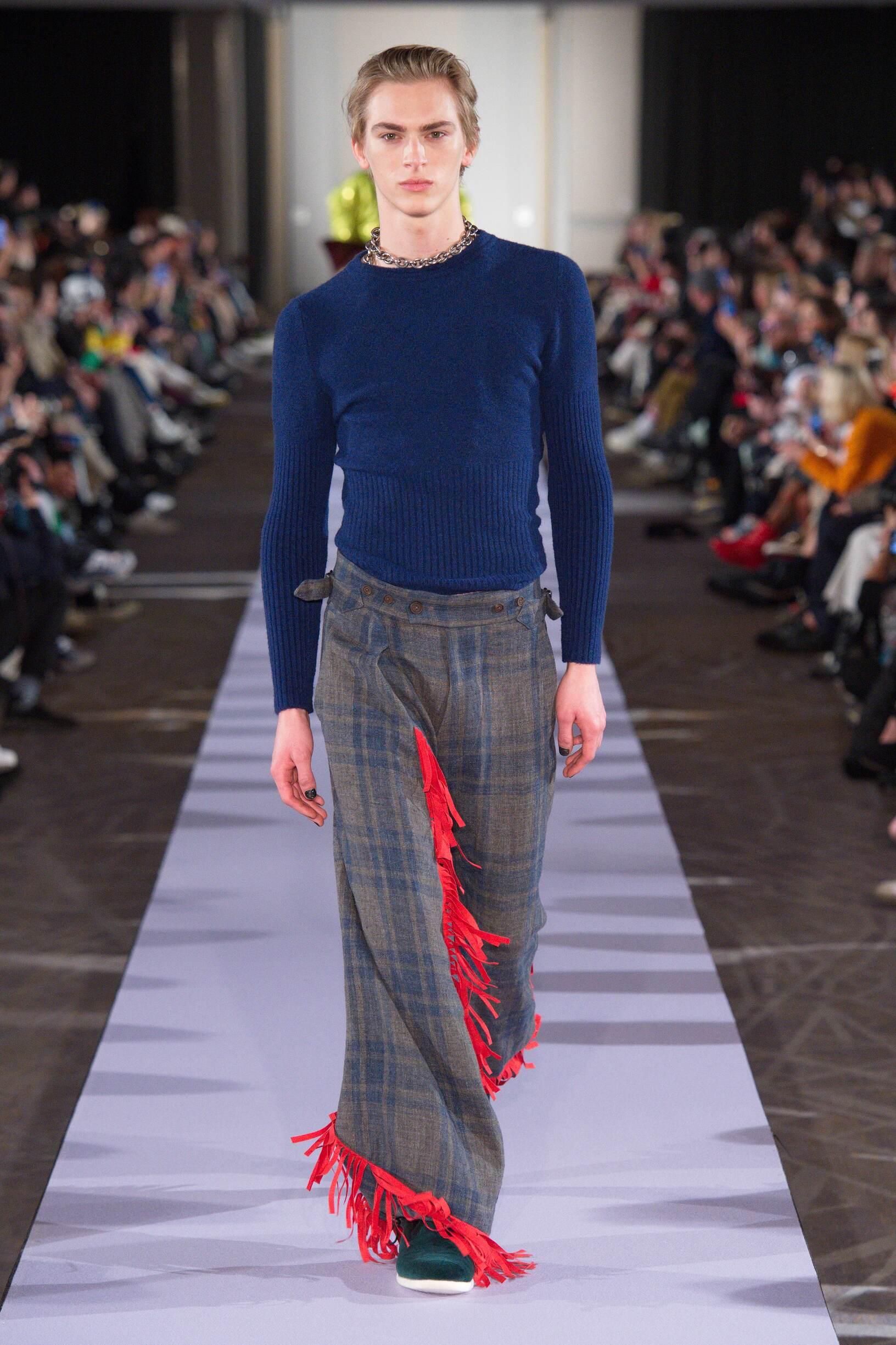 Catwalk Andreas Kronthaler for Vivienne Westwood Men Fashion Show Winter 2019