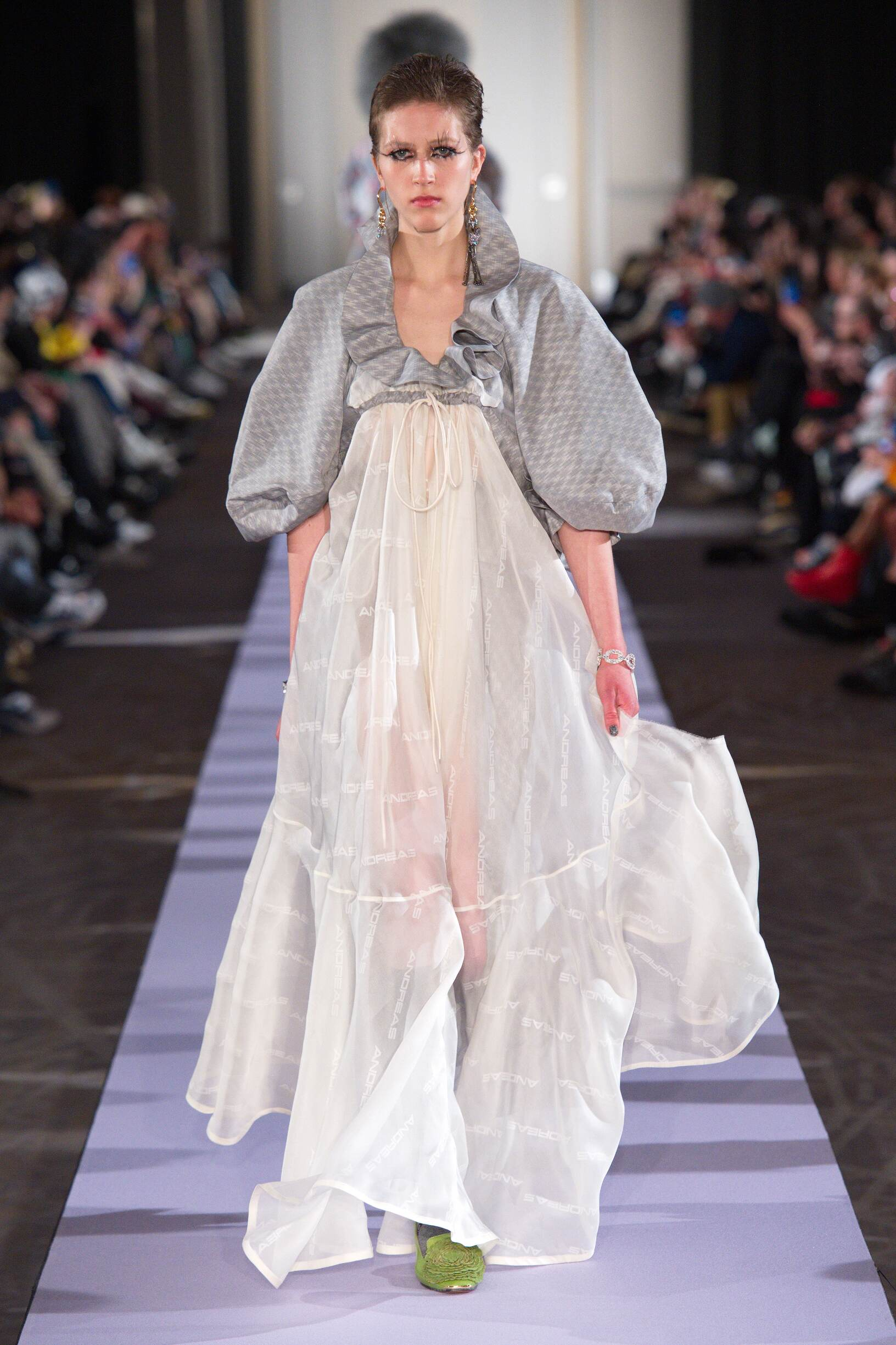 Catwalk Andreas Kronthaler for Vivienne Westwood Woman Fashion Show Winter 2019