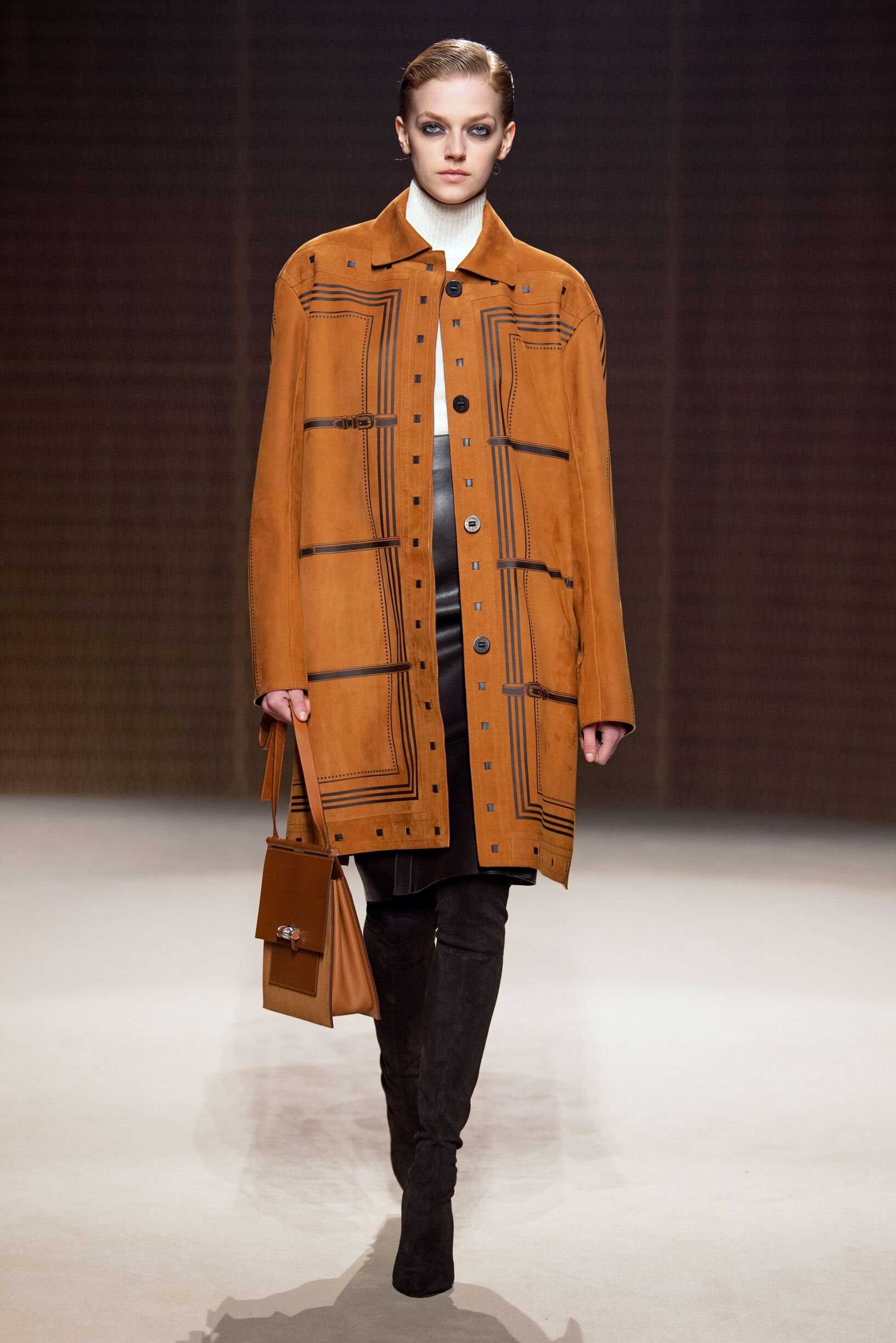 Catwalk Hermès Winter 2019