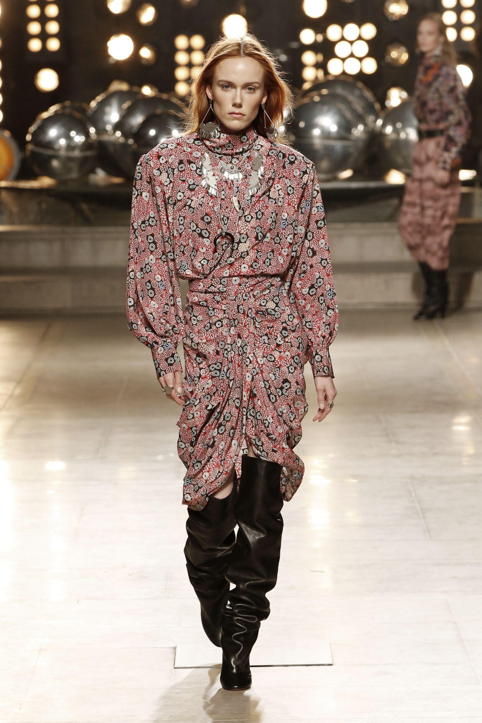 Catwalk Isabel Marant Women Fashion Show Winter 2019