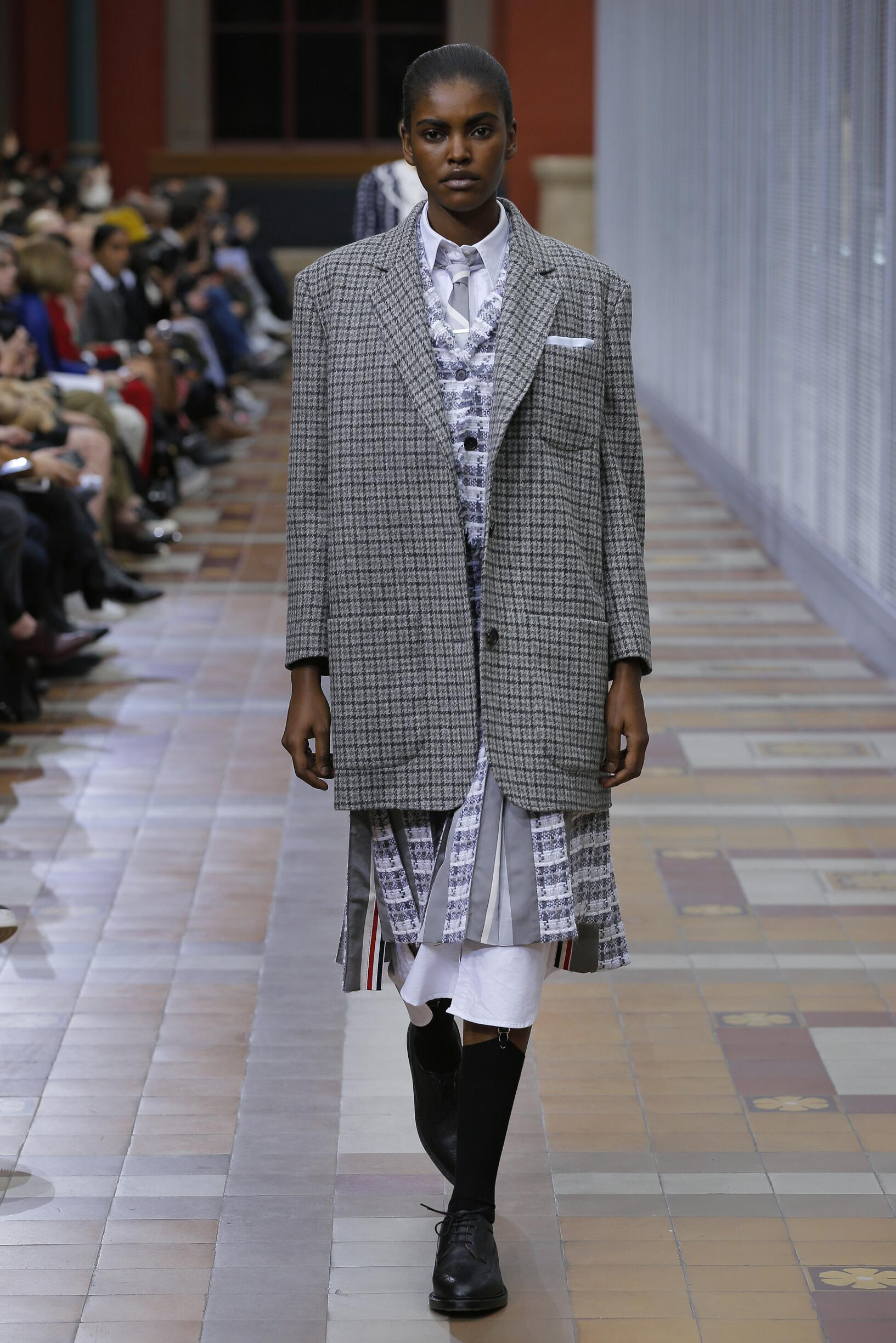 Catwalk Thom Browne Winter 2019