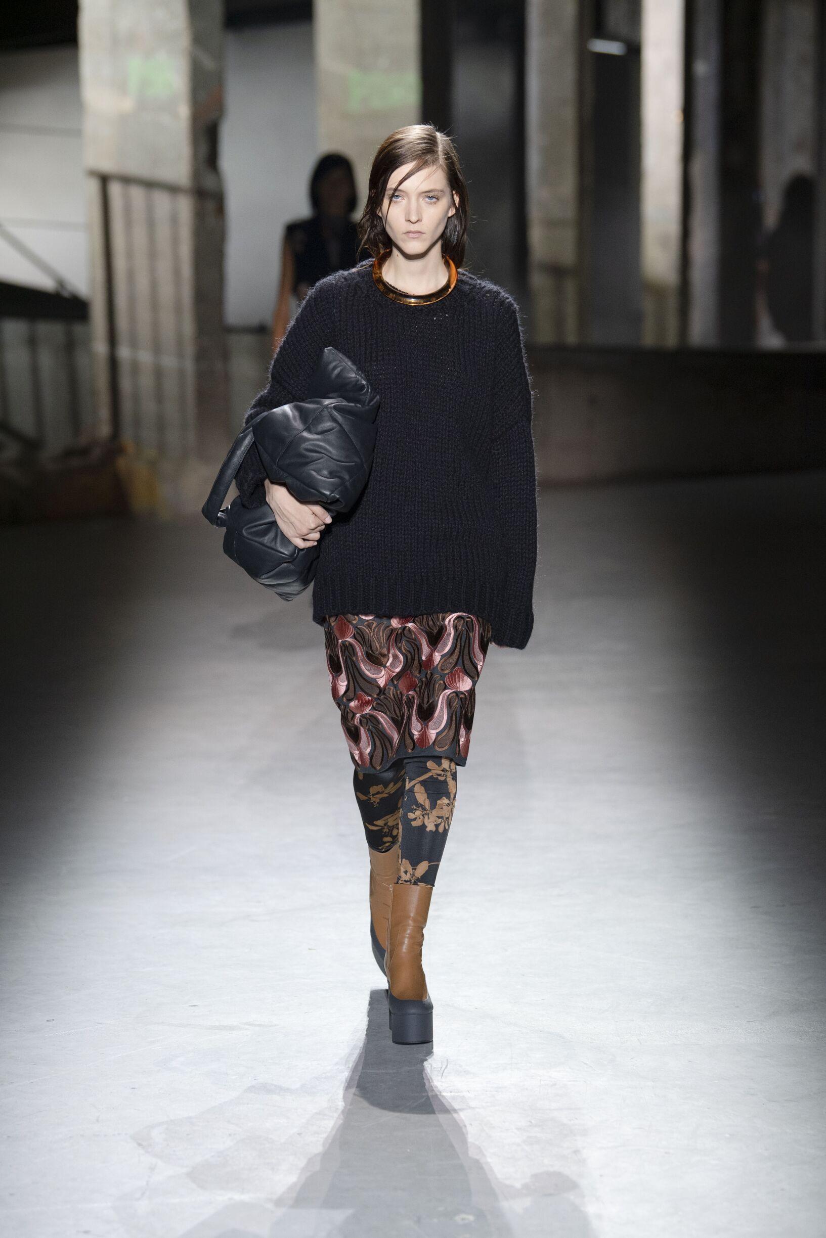 Dries van Noten Paris Fashion Week Womenswear