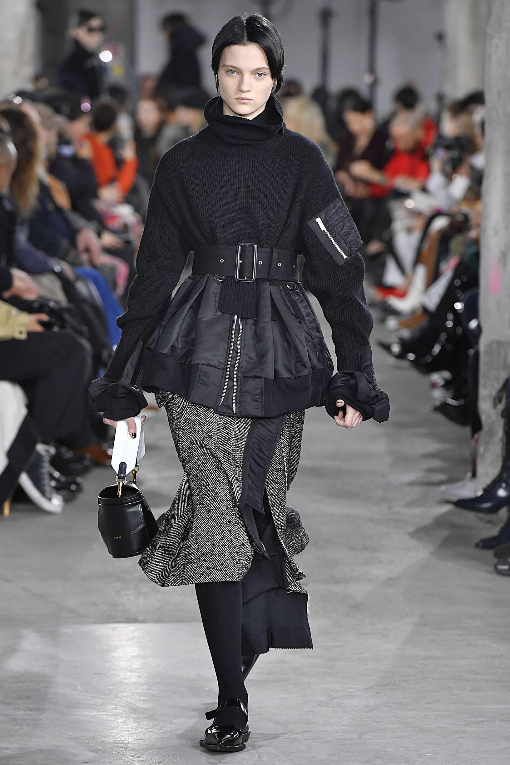 FW 2019-20 Fashion Show Sacai