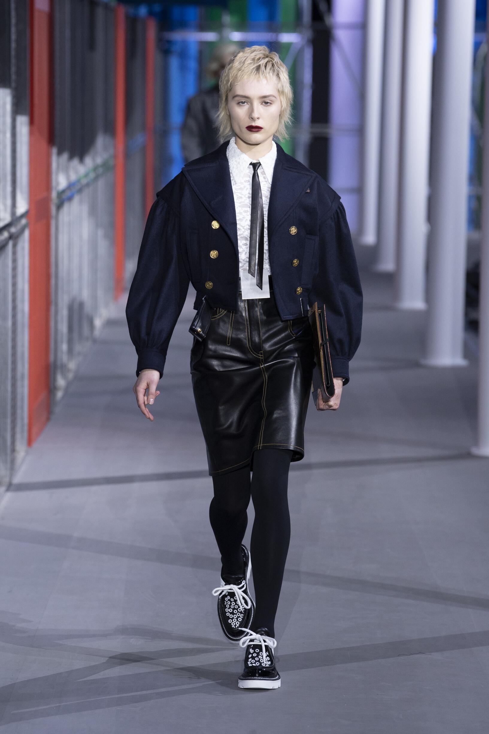 FW 2019-20 Louis Vuitton Fashion Show Paris Fashion Week