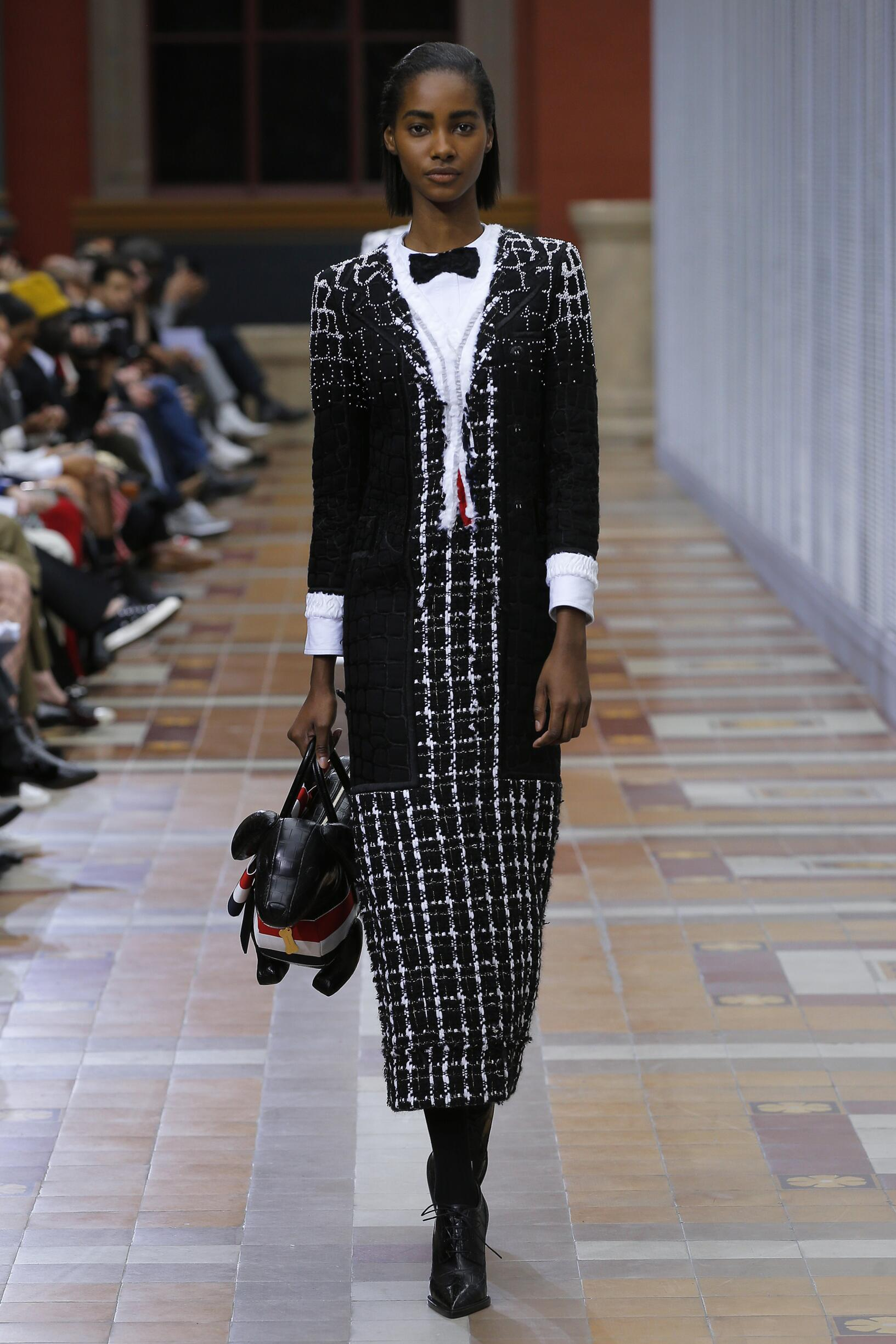 FW 2019-20 Thom Browne Fashion Show Paris Fashion Week
