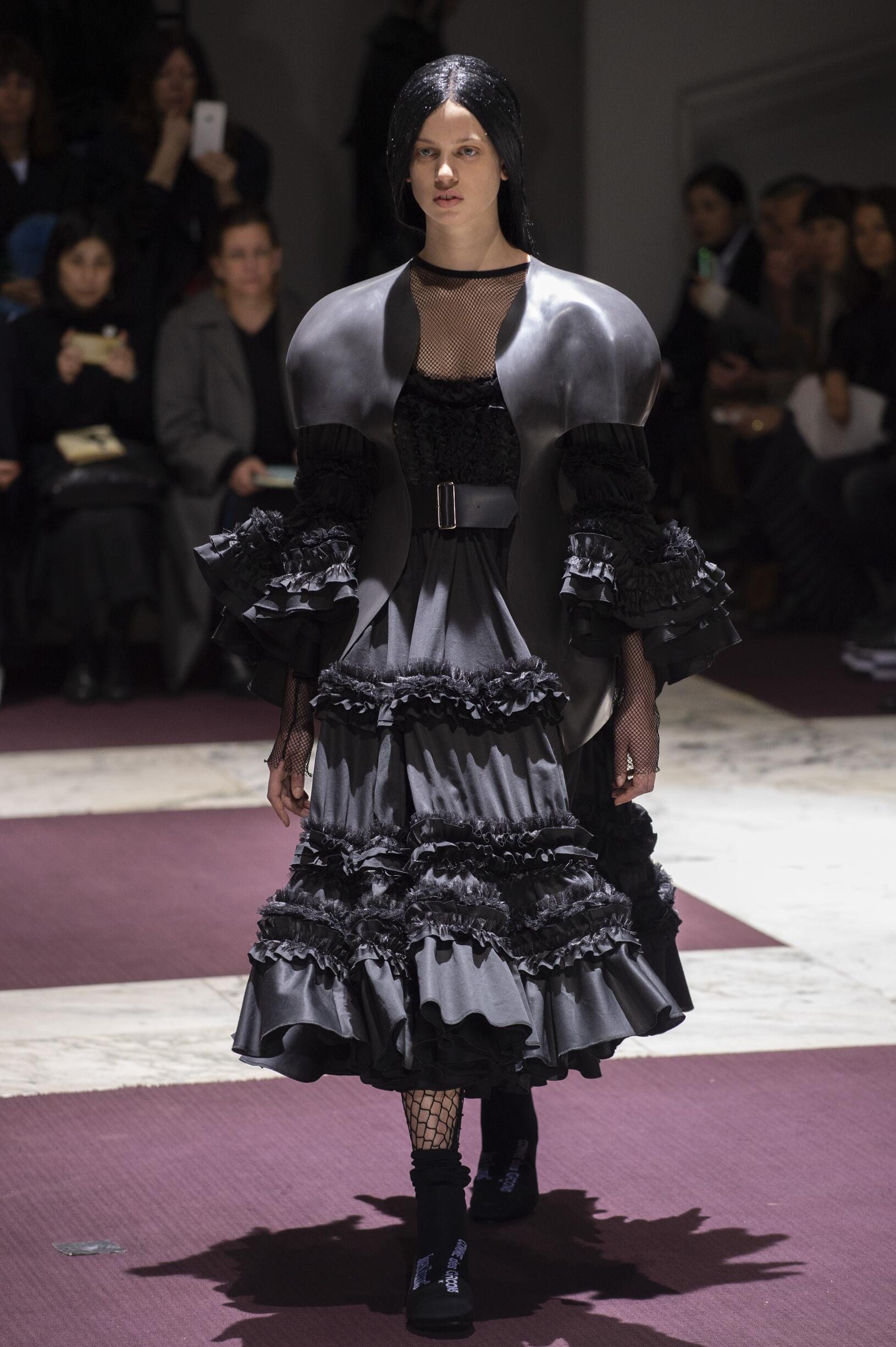 Fall 2019 Womenswear Comme des Garçons