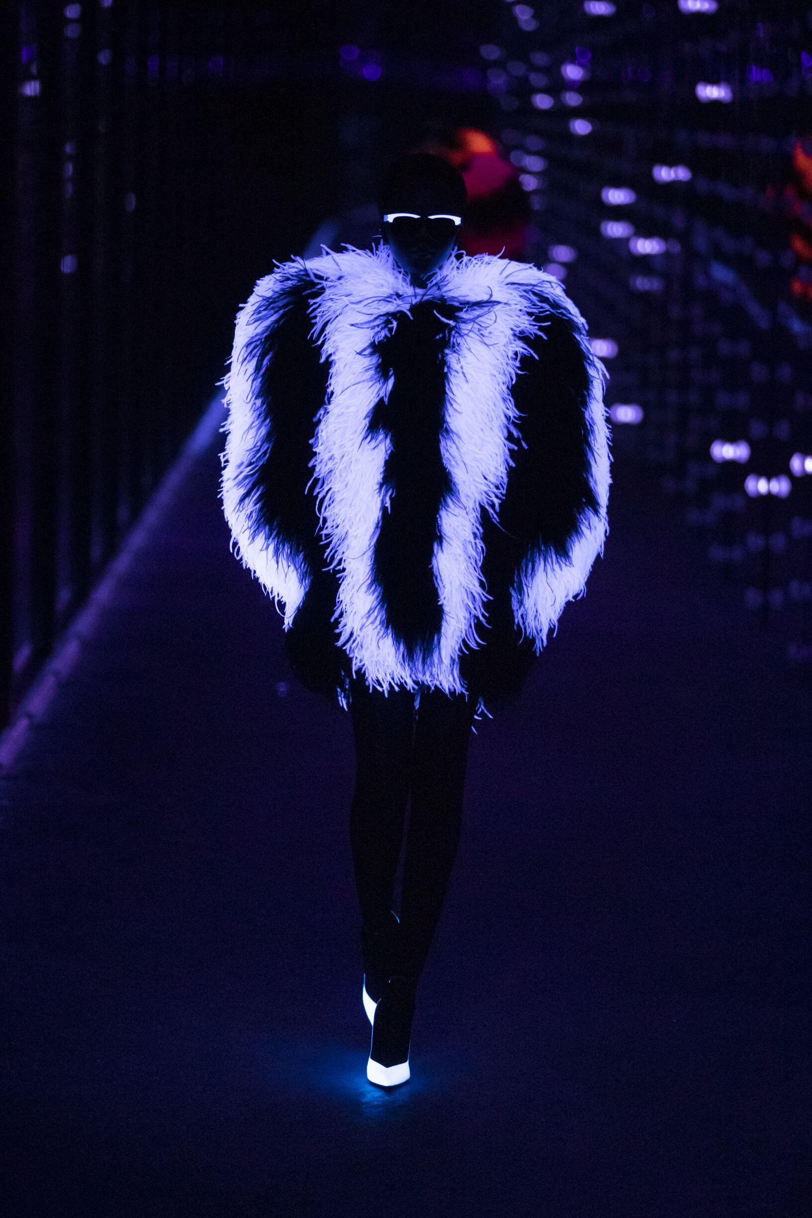 Fashion 2019 Catwalk Saint Laurent Winter Womens Collection