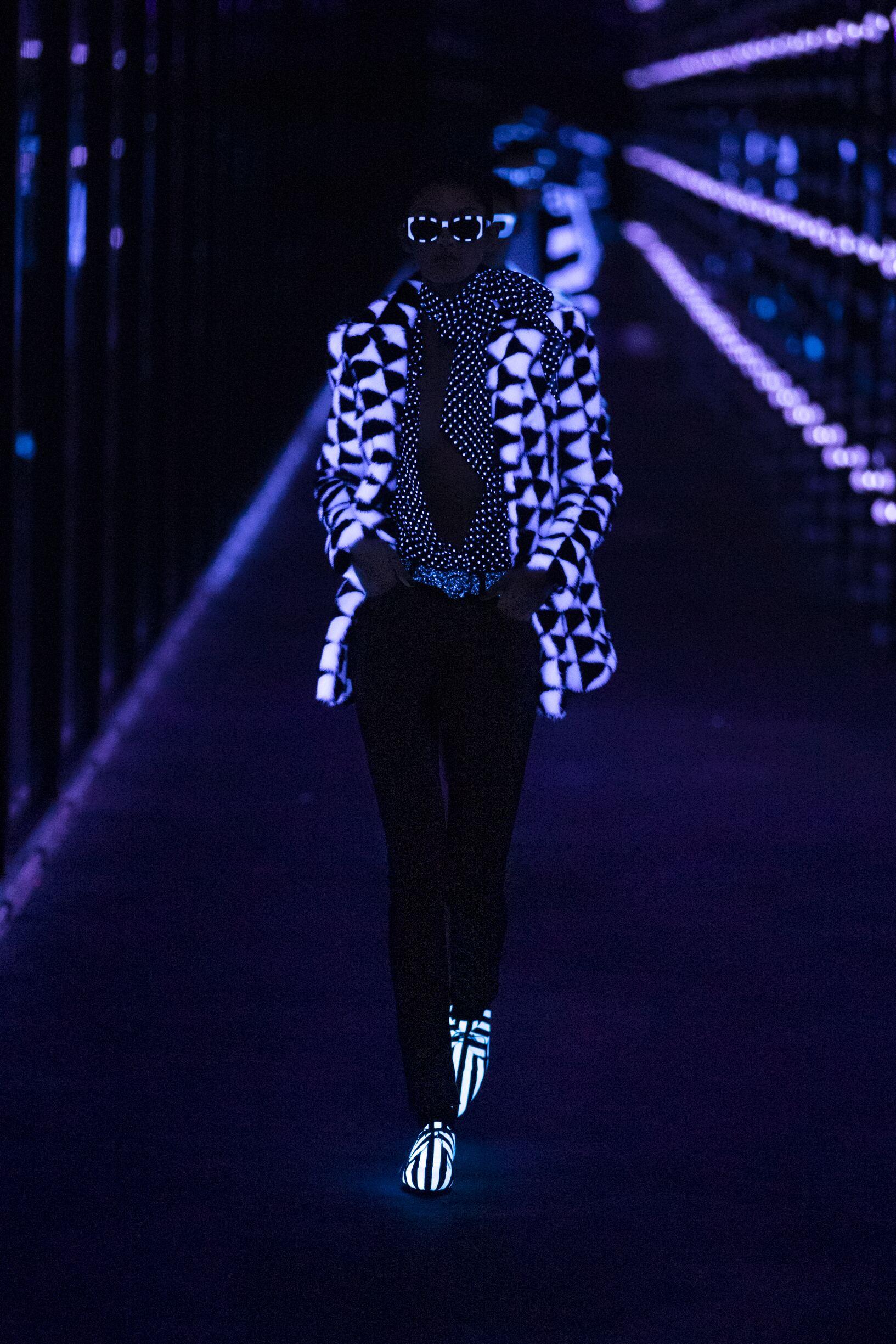 Fashion 2019 Model Style Saint Laurent