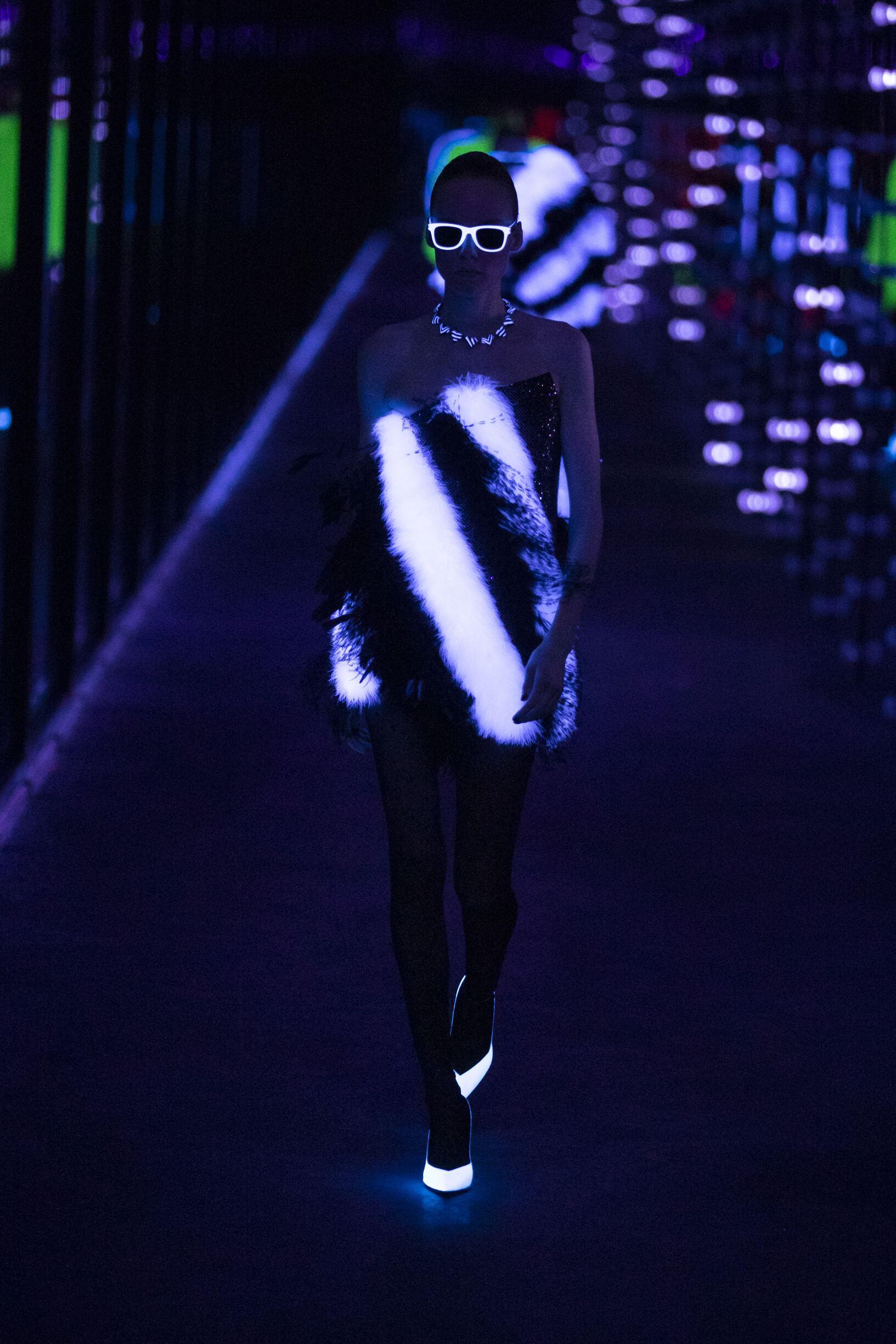 Fashion 2019 Runway Saint Laurent Winter