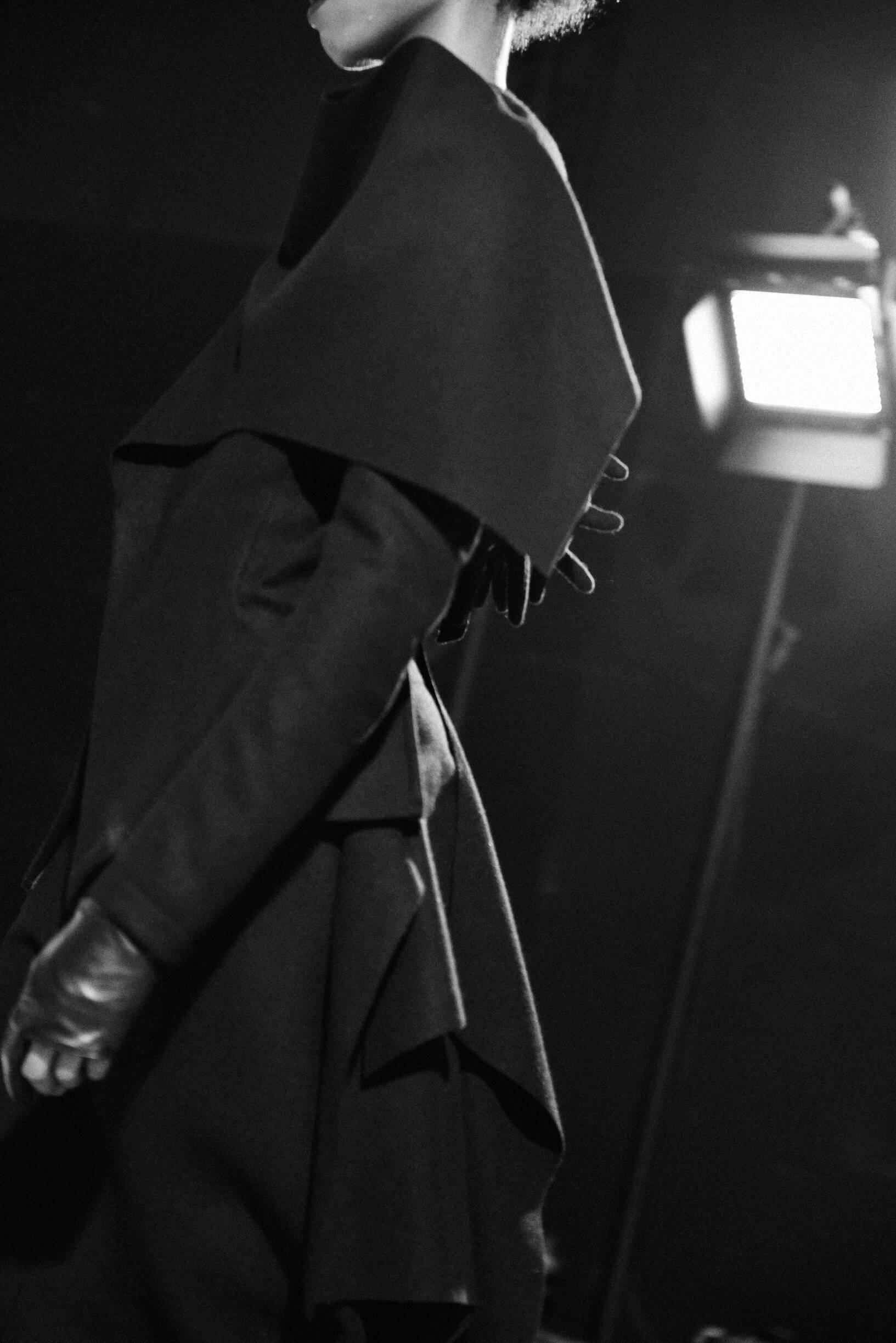 Fashion Detail 2019 Backstage Yohji Yamamoto
