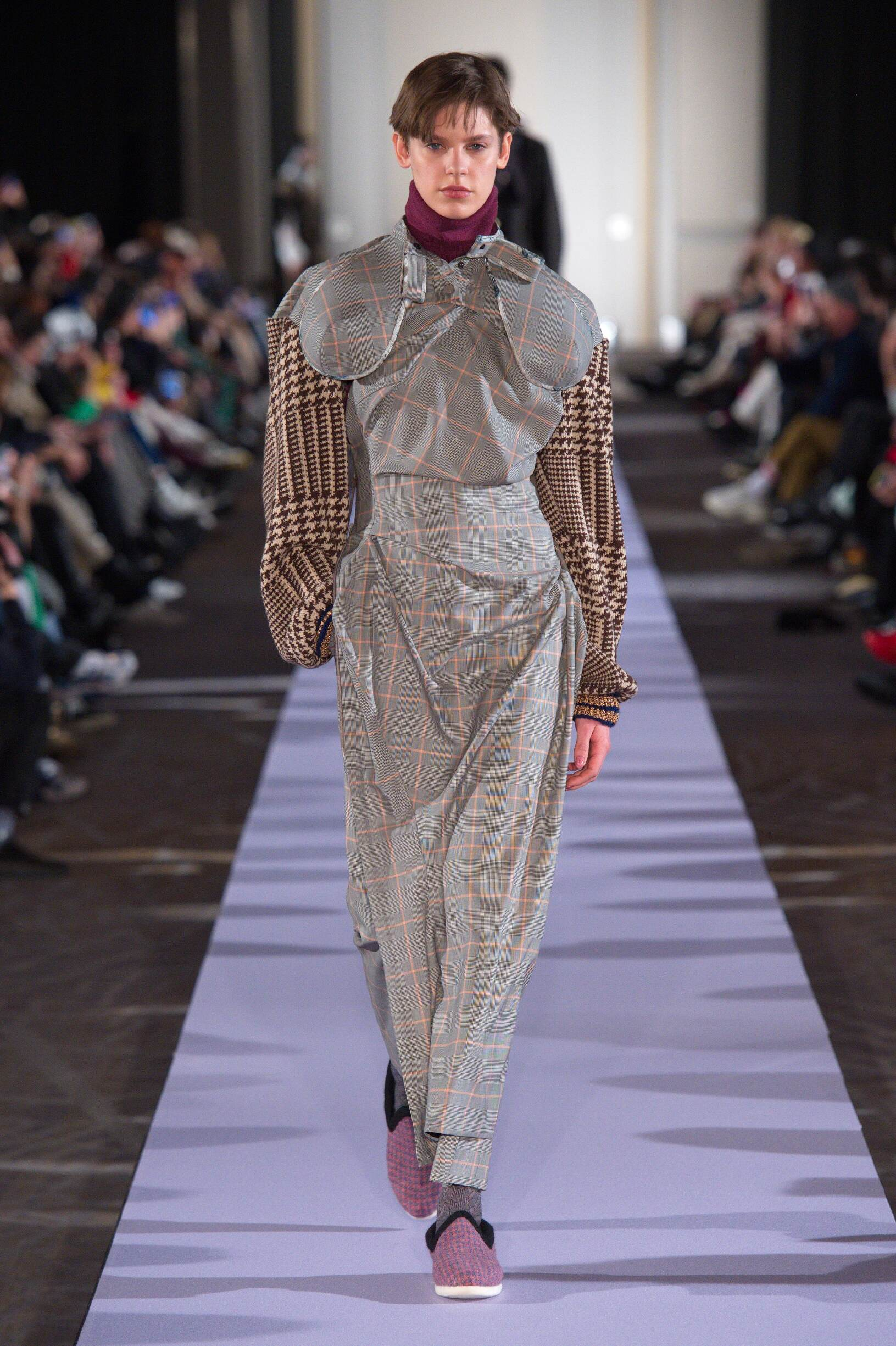 Fashion Model Andreas Kronthaler for Vivienne Westwood Catwalk