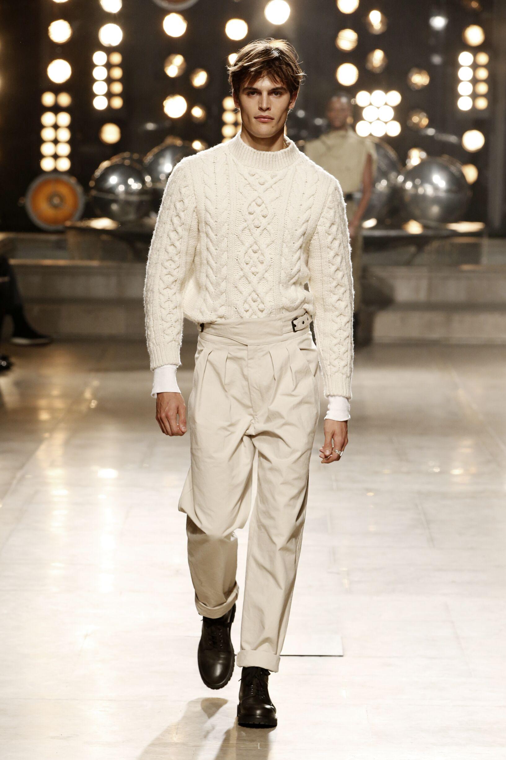 Fashion Model Isabel Marant Catwalk