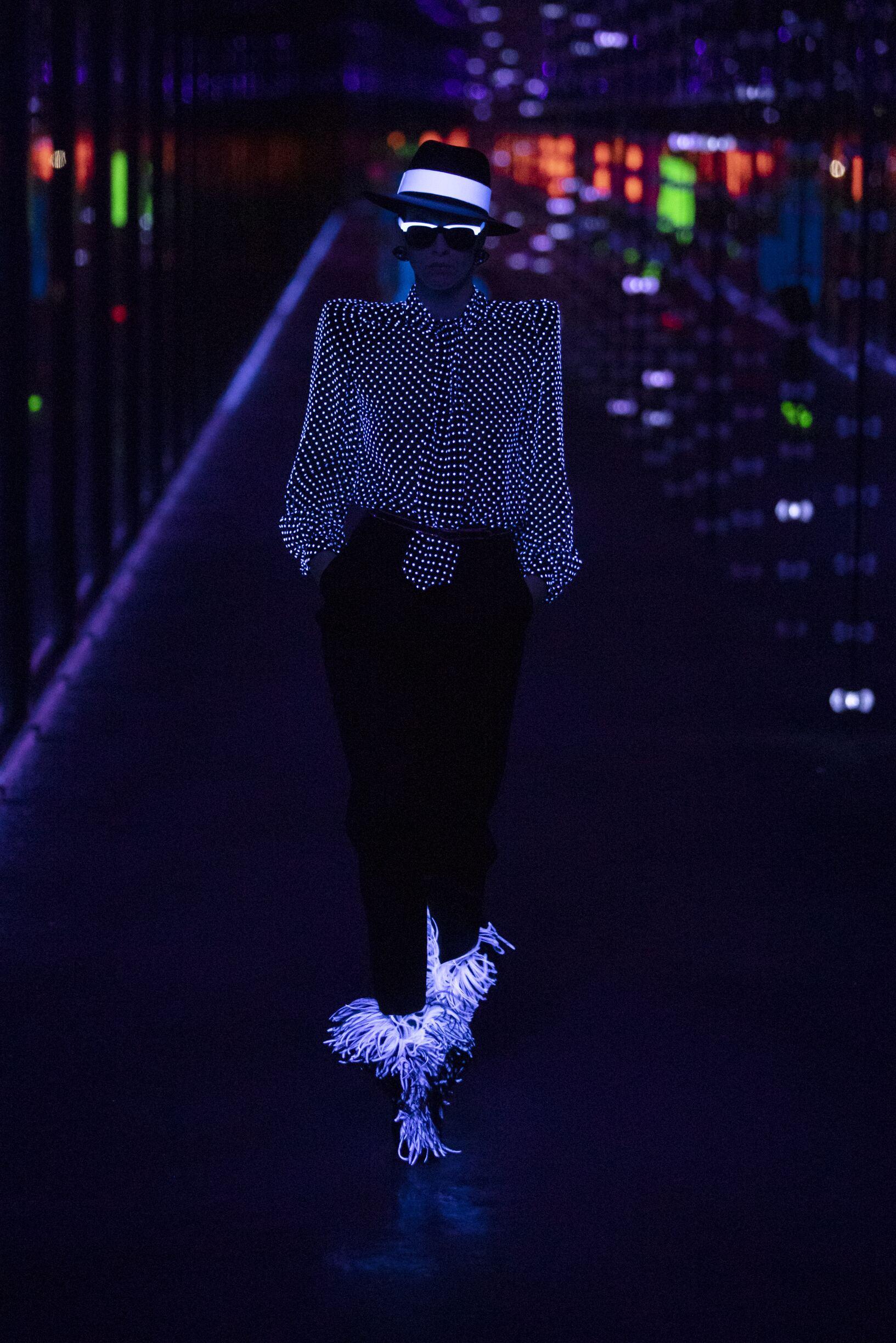 Fashion Trends 2019 20 Catwalk Saint Laurent Winter Womens Collection
