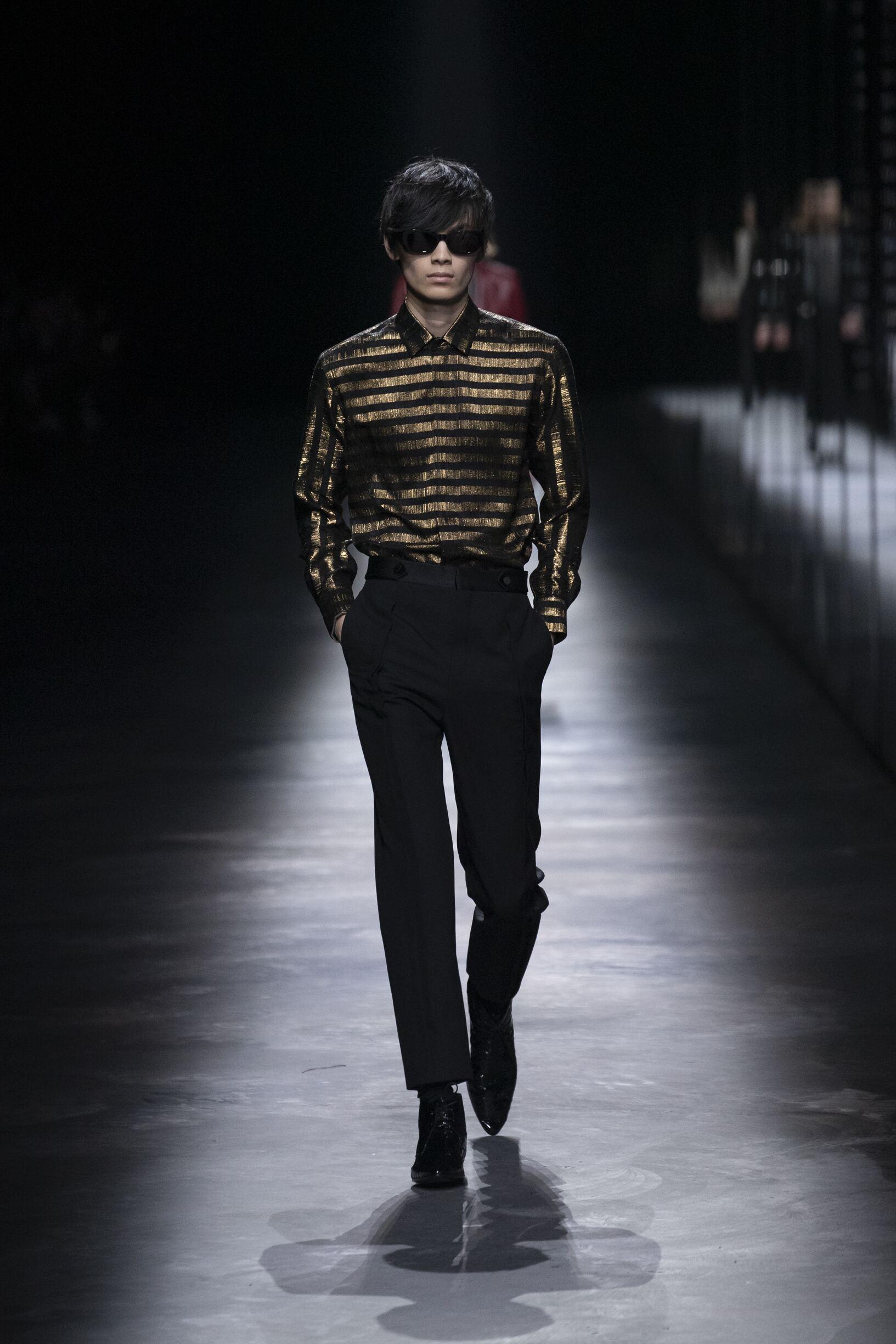 Fashion Week 2019 Catwalk Saint Laurent