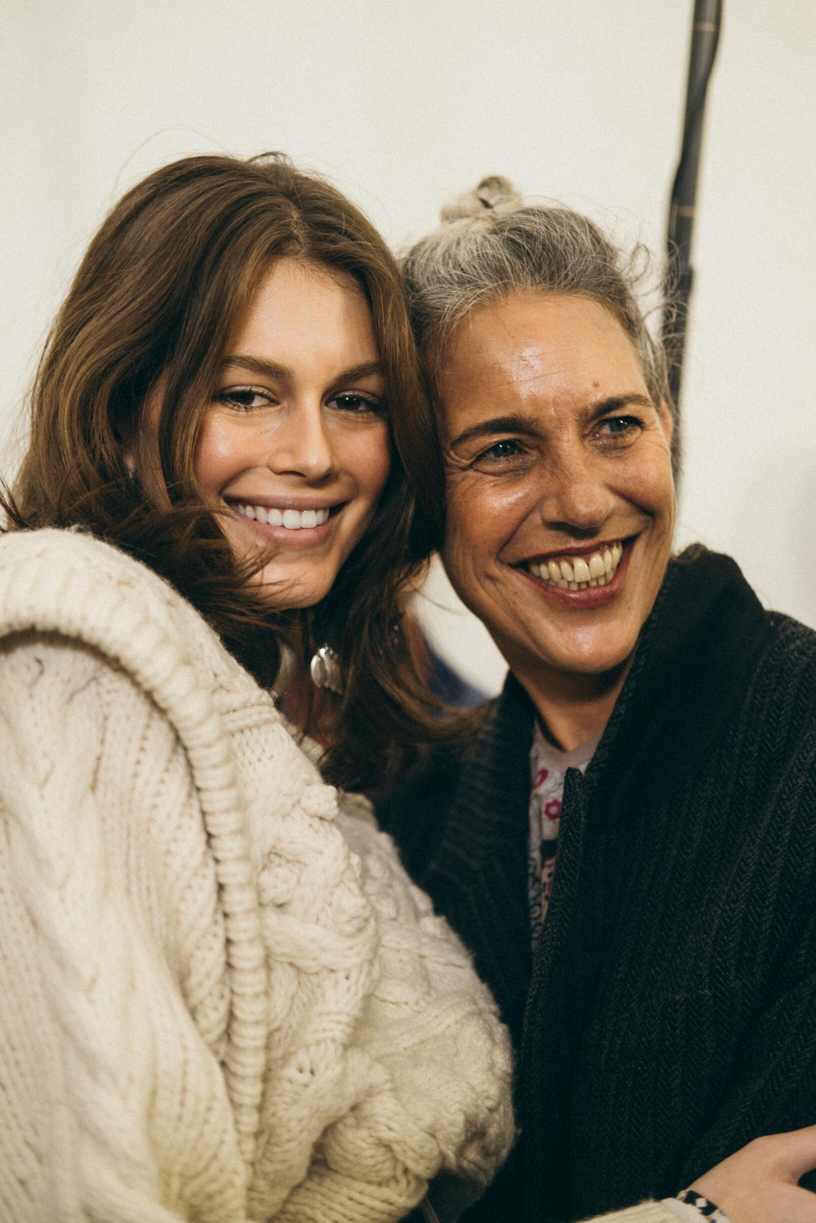 Isabel Marant with Model