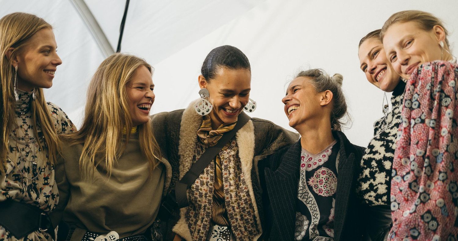 Backstage Isabel Marant Fashion Show 2019 Paris
